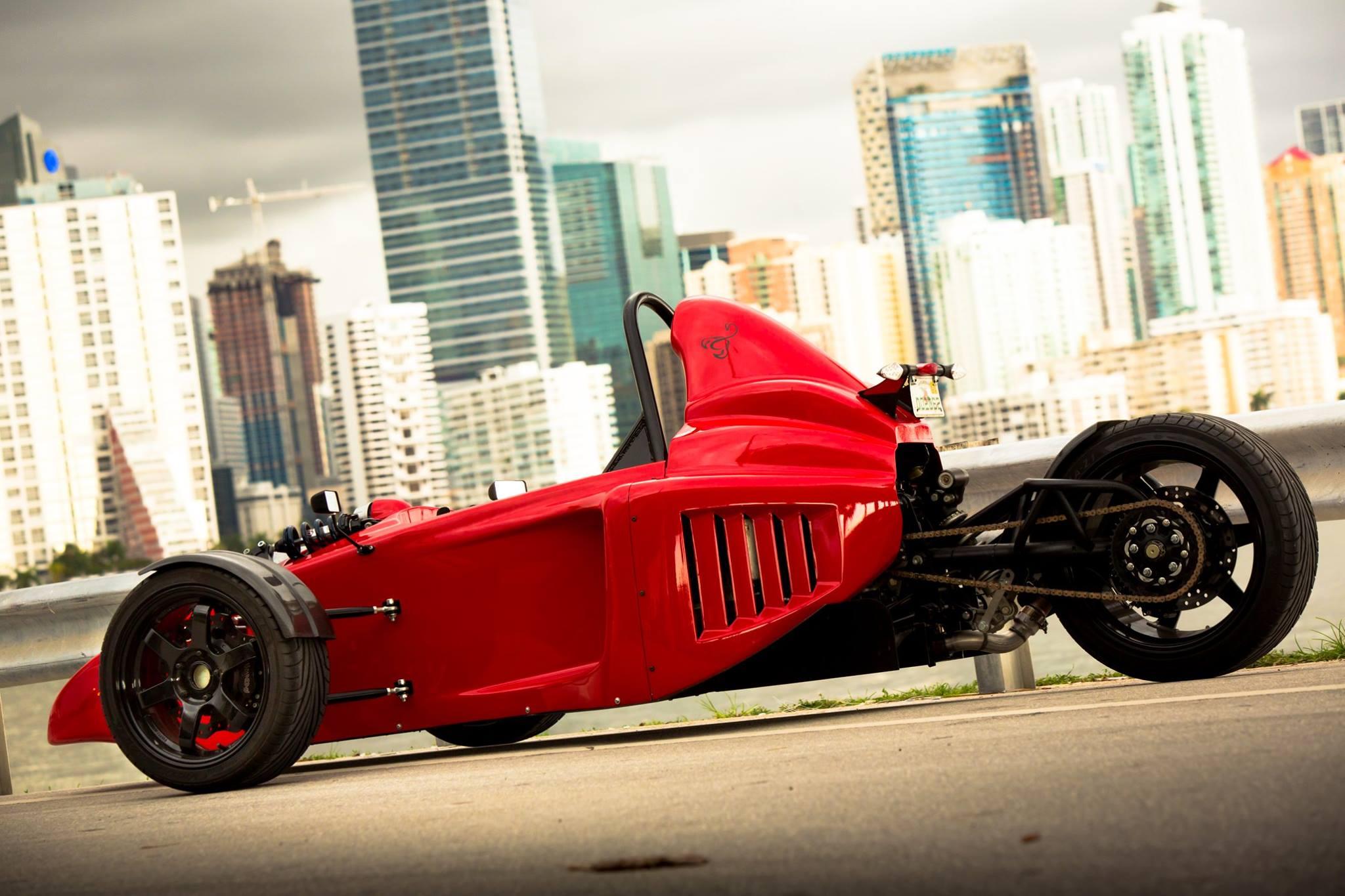 Meet Morgan 3 Wheeler's Nemesis - the Scorpion P6 ...