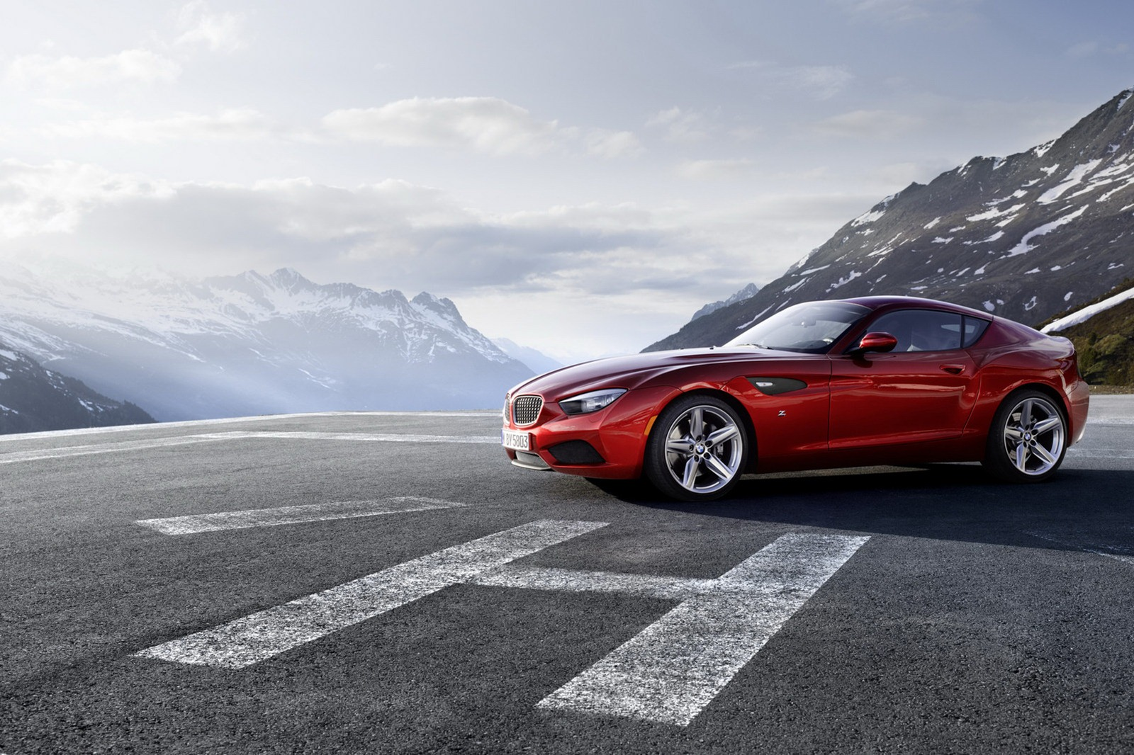 Meet The Best Looking Modern Bmw The Z4 Zagato