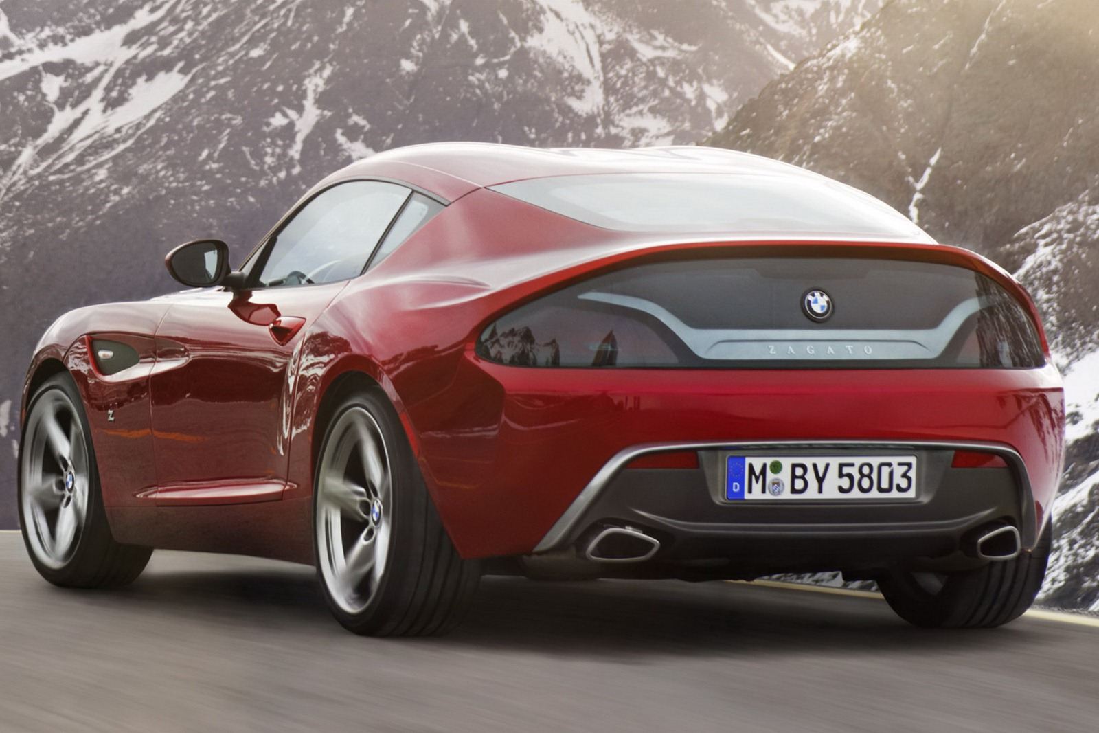 Meet The Best Looking Modern Bmw The Z4 Zagato Autoevolution