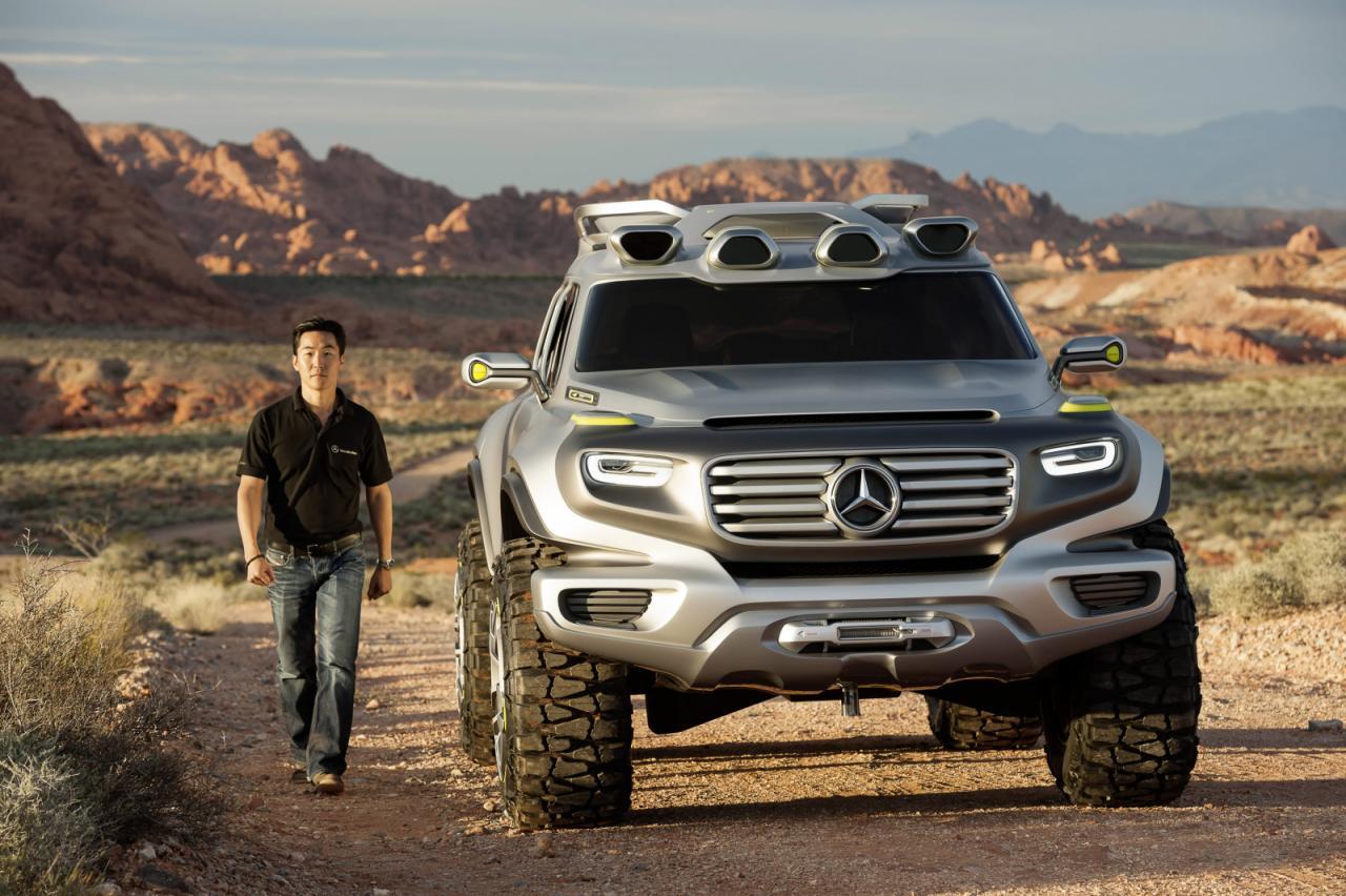Meet The Mercedes Ener G Force The 2025 G Class