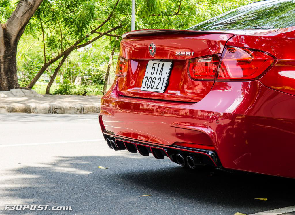 Melbourne Red Bmw 328i From Vietnam Is A Thing Of Passion