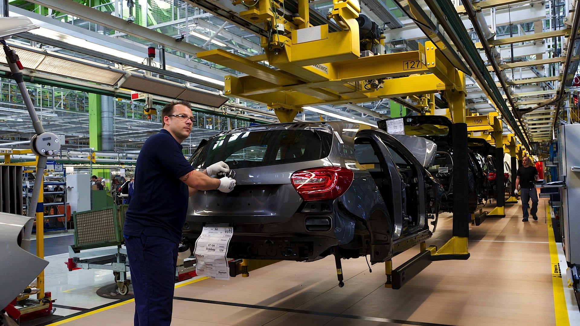 mercedes a-class production begins in germany - autoevolution
