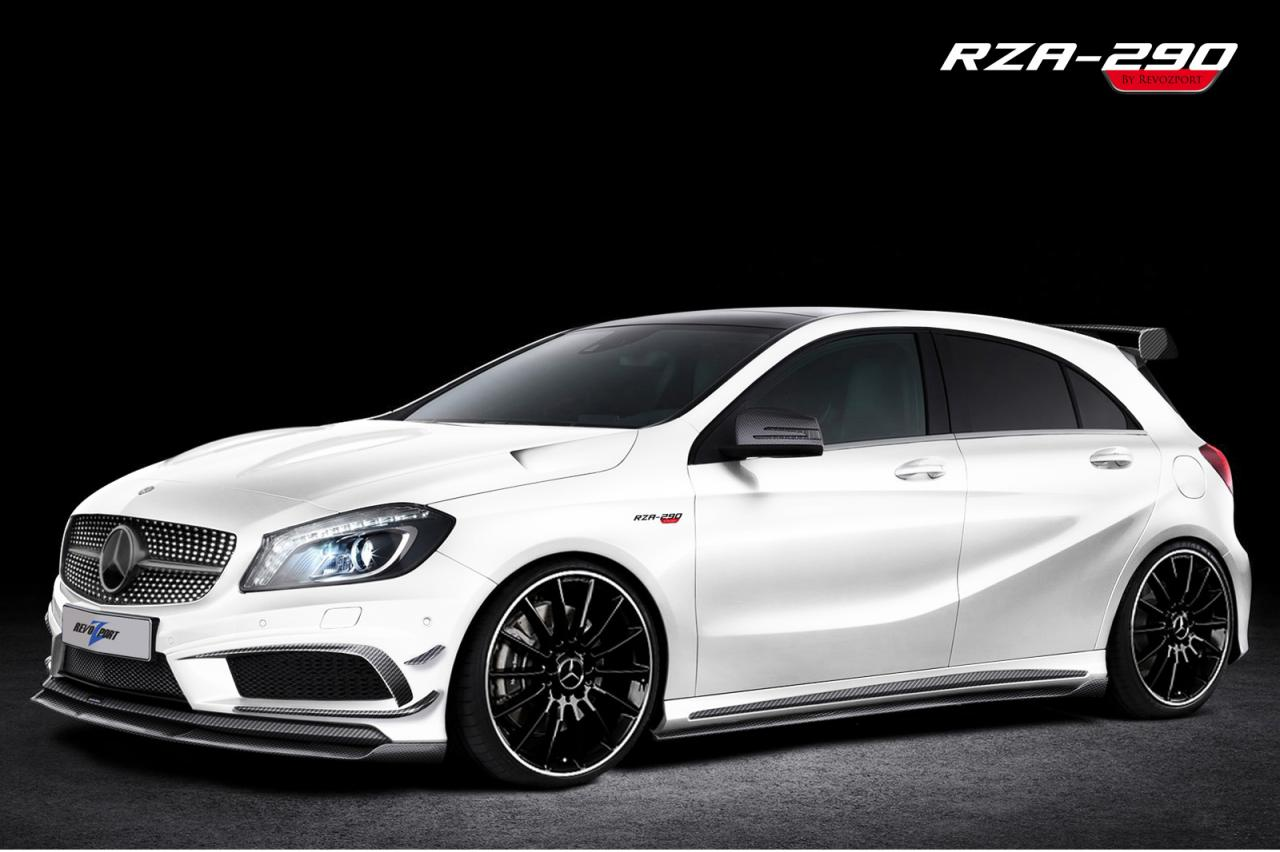 mercedes a class tuned by revozport autoevolution. Black Bedroom Furniture Sets. Home Design Ideas
