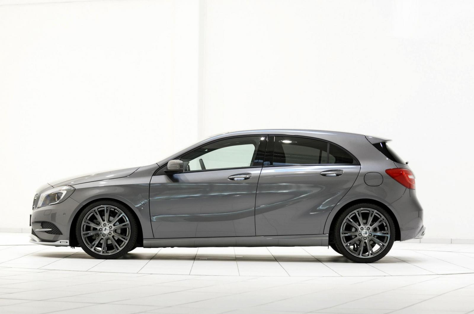 Mercedes A200 Cdi Gets More Power From Brabus Autoevolution