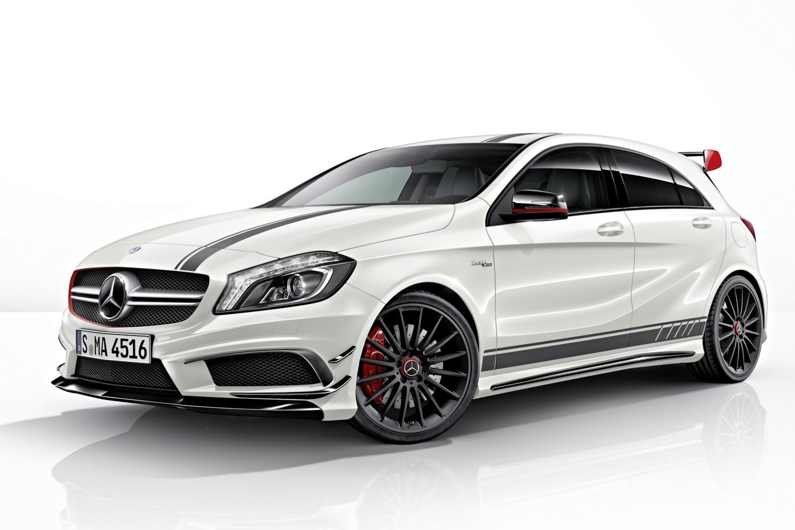 Mercedes a45 amg edition 1 goes on sale autoevolution for Mercedes benz news