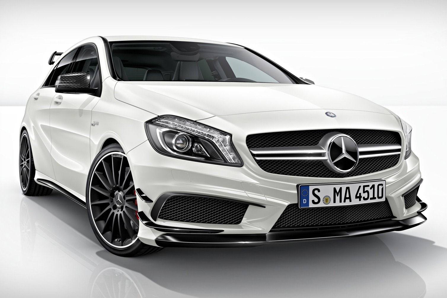 Mercedes a45 amg edition 1 goes on sale autoevolution for The newest mercedes benz