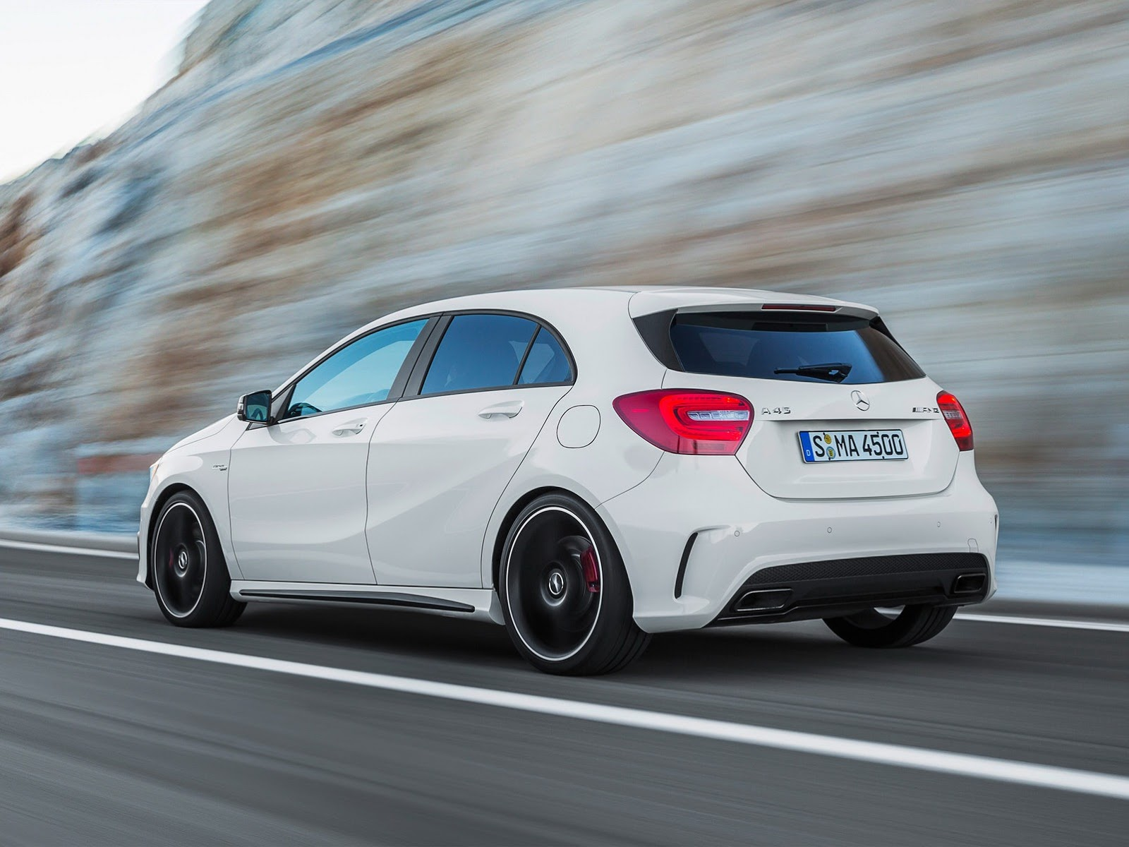 mercedes a45 amg edition 1 goes on sale autoevolution. Black Bedroom Furniture Sets. Home Design Ideas