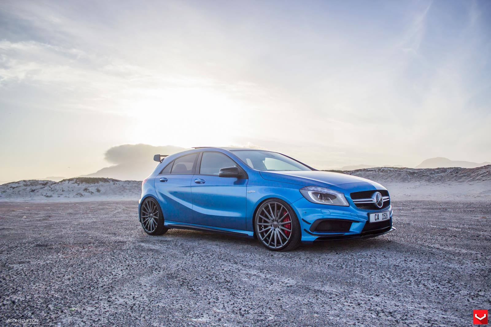 Mercedes A45 Amg On Vossen 20 Inch Wheels Takes A Stroll HD Wallpapers Download free images and photos [musssic.tk]