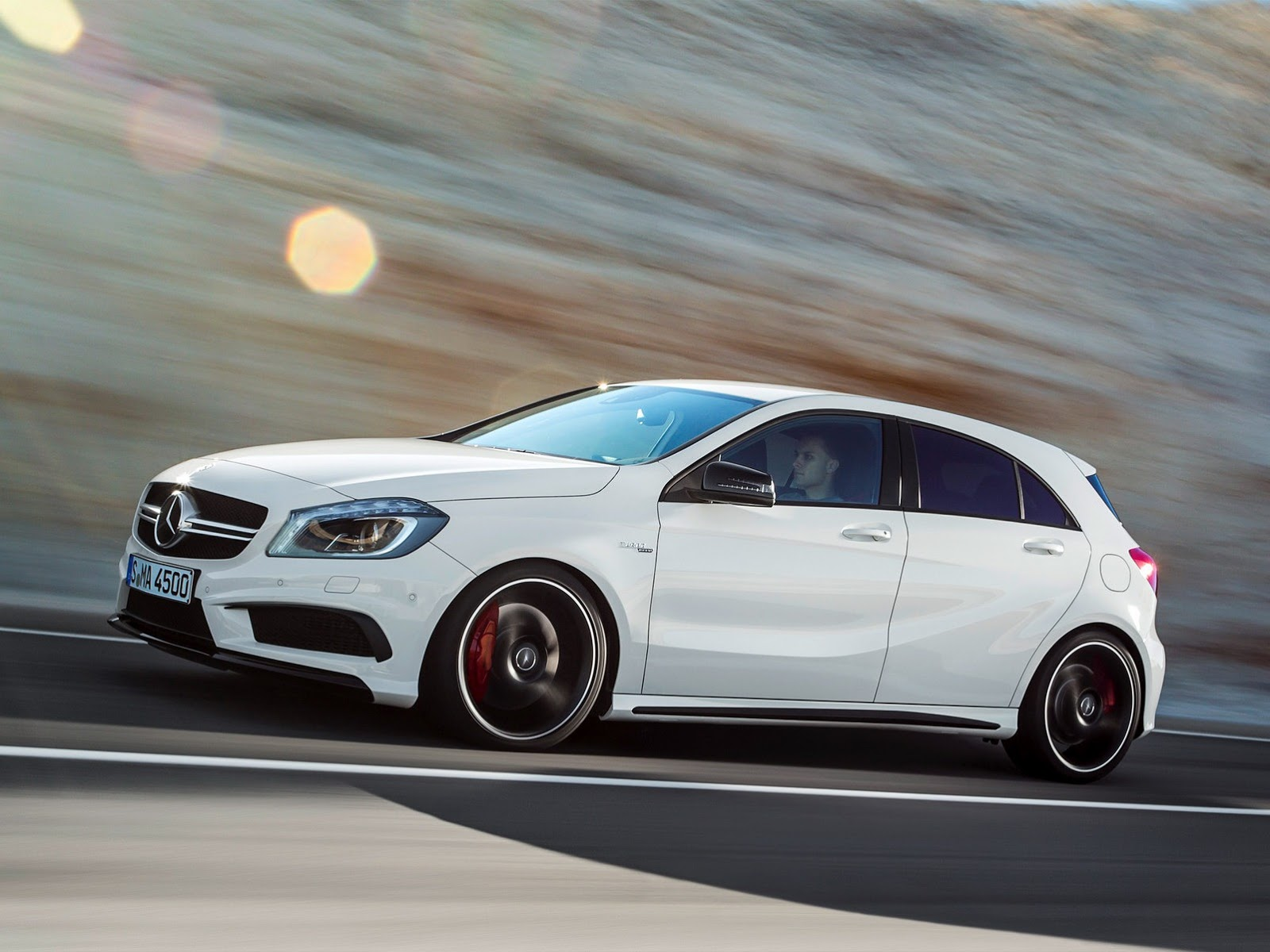 Mercedes A Amg Revealed Hp Awd Speed Photo Gallery
