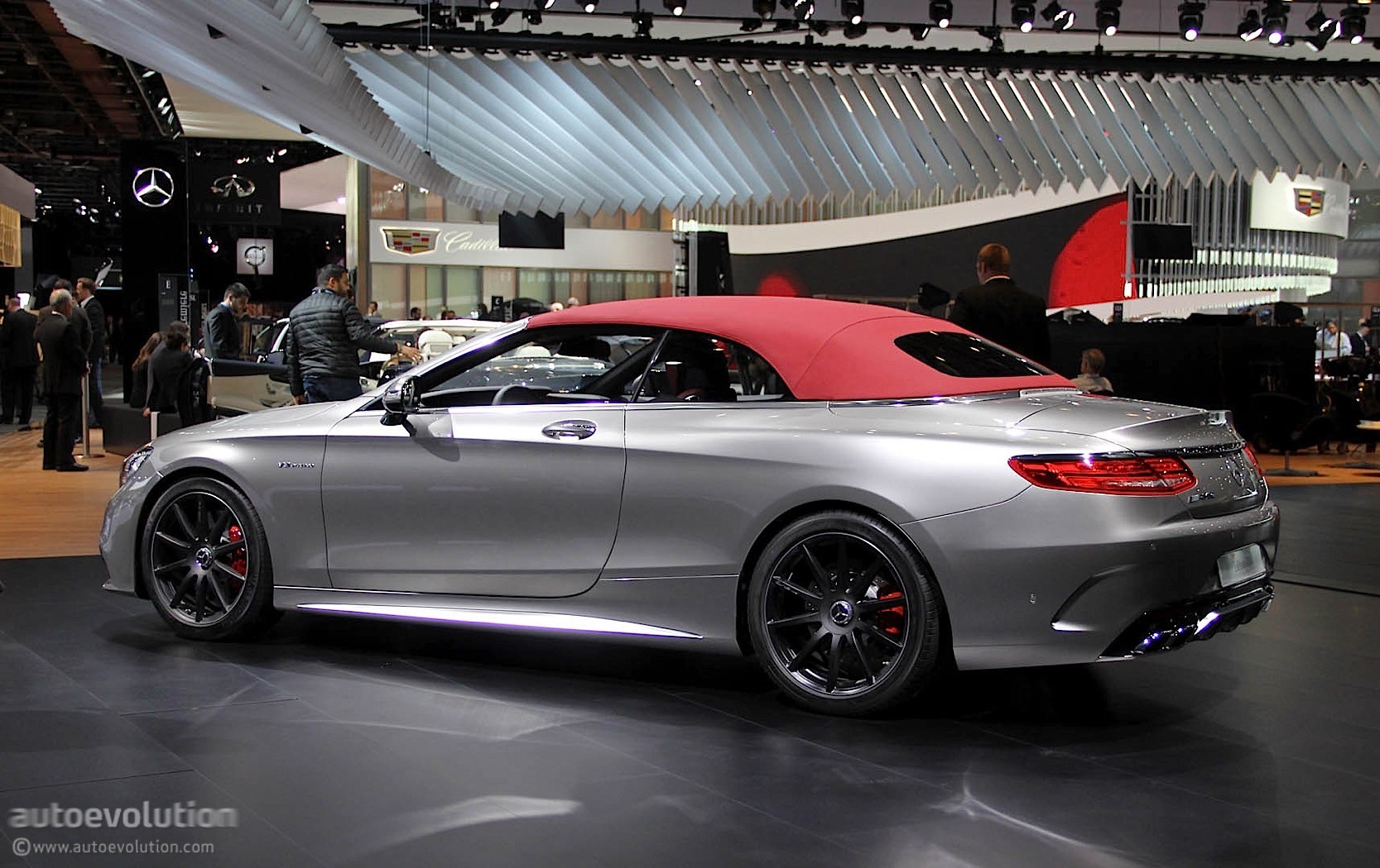 mercedes amg s63 cabriolet edition 130 sexifies the 2016 detroit auto show autoevolution. Black Bedroom Furniture Sets. Home Design Ideas