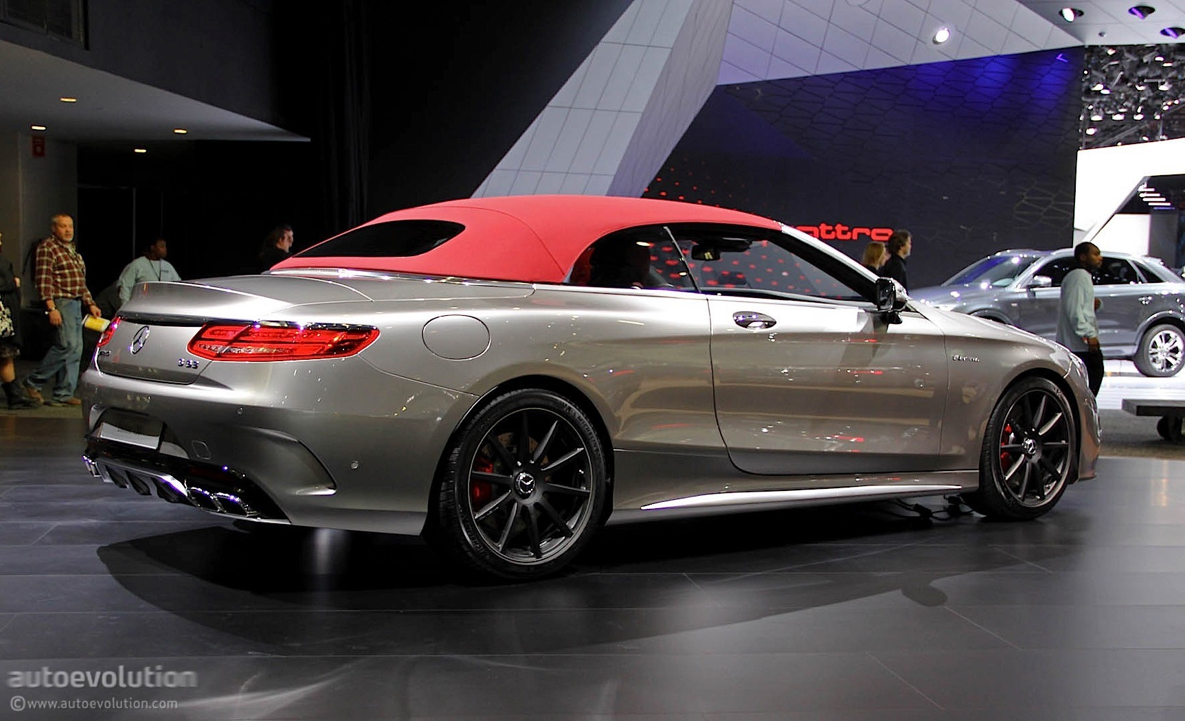 Mercedes S  Cabriolet Coupe