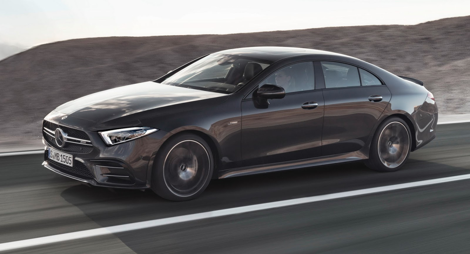 2019 mercedes amg cls 53 officially revealed autoevolution. Black Bedroom Furniture Sets. Home Design Ideas