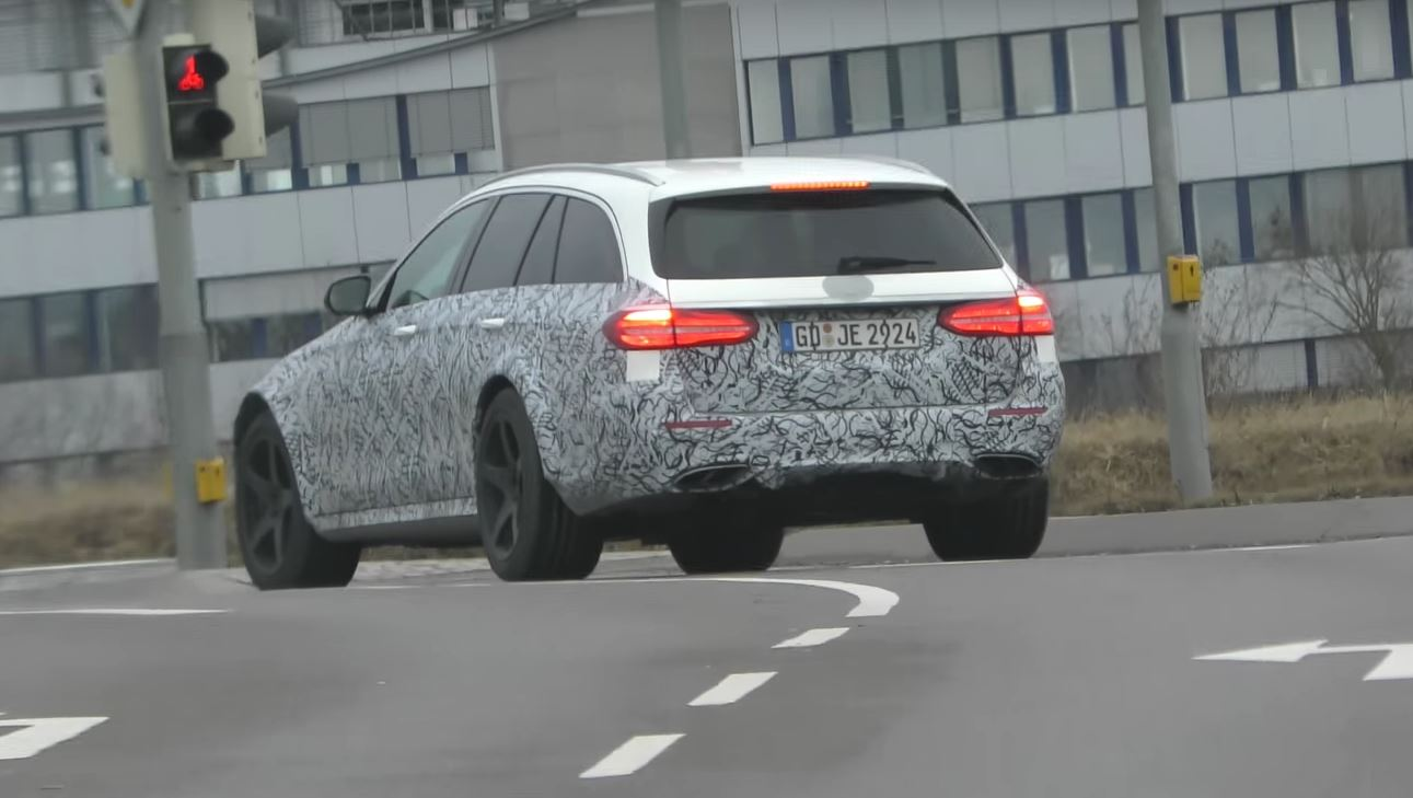 Mercedes Amg E43 All Terrain Spied In Stuttgart Germans