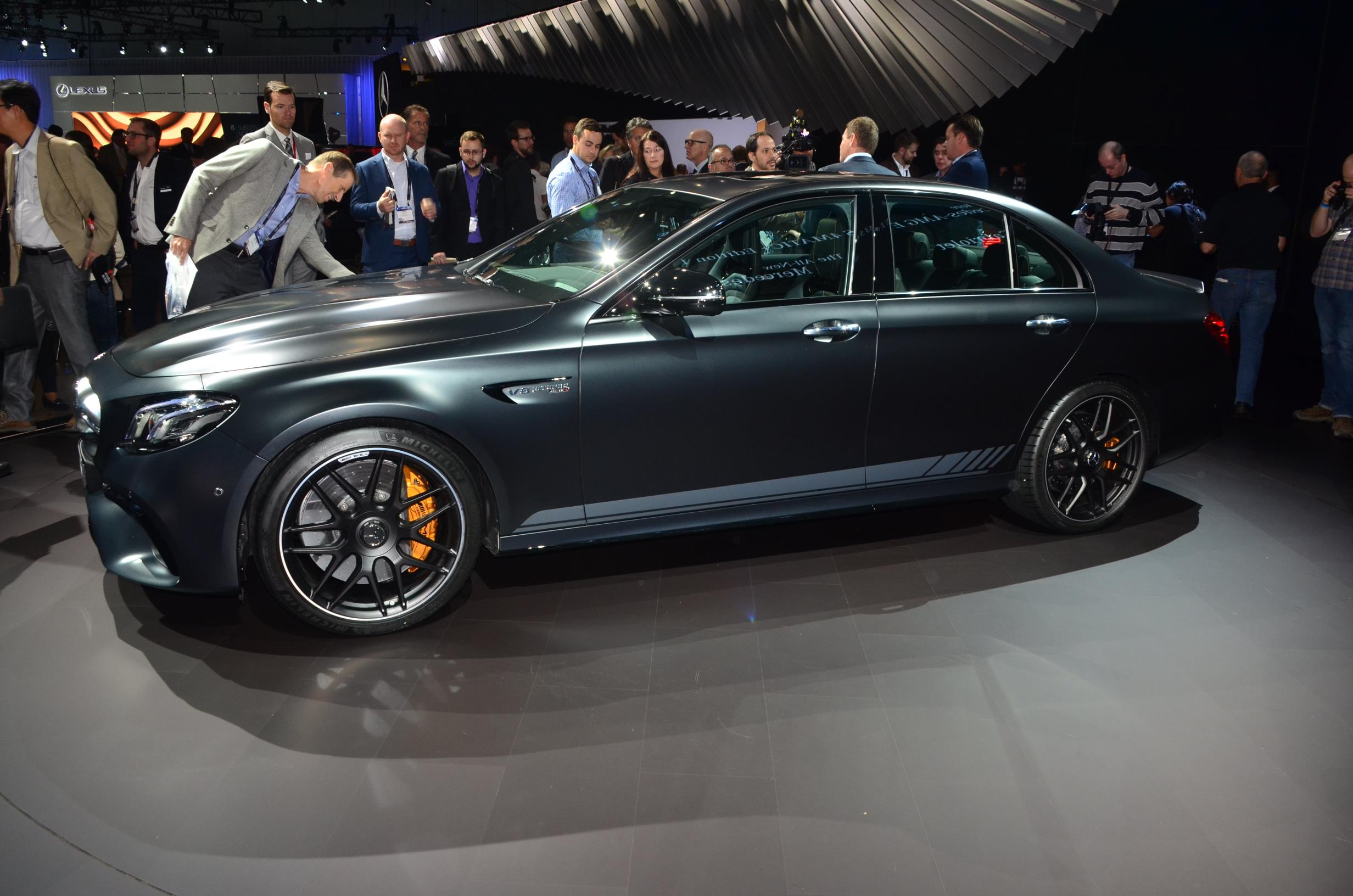 Mercedes Amg E63 S Edition 1 Is Black At 2016 La Auto Show