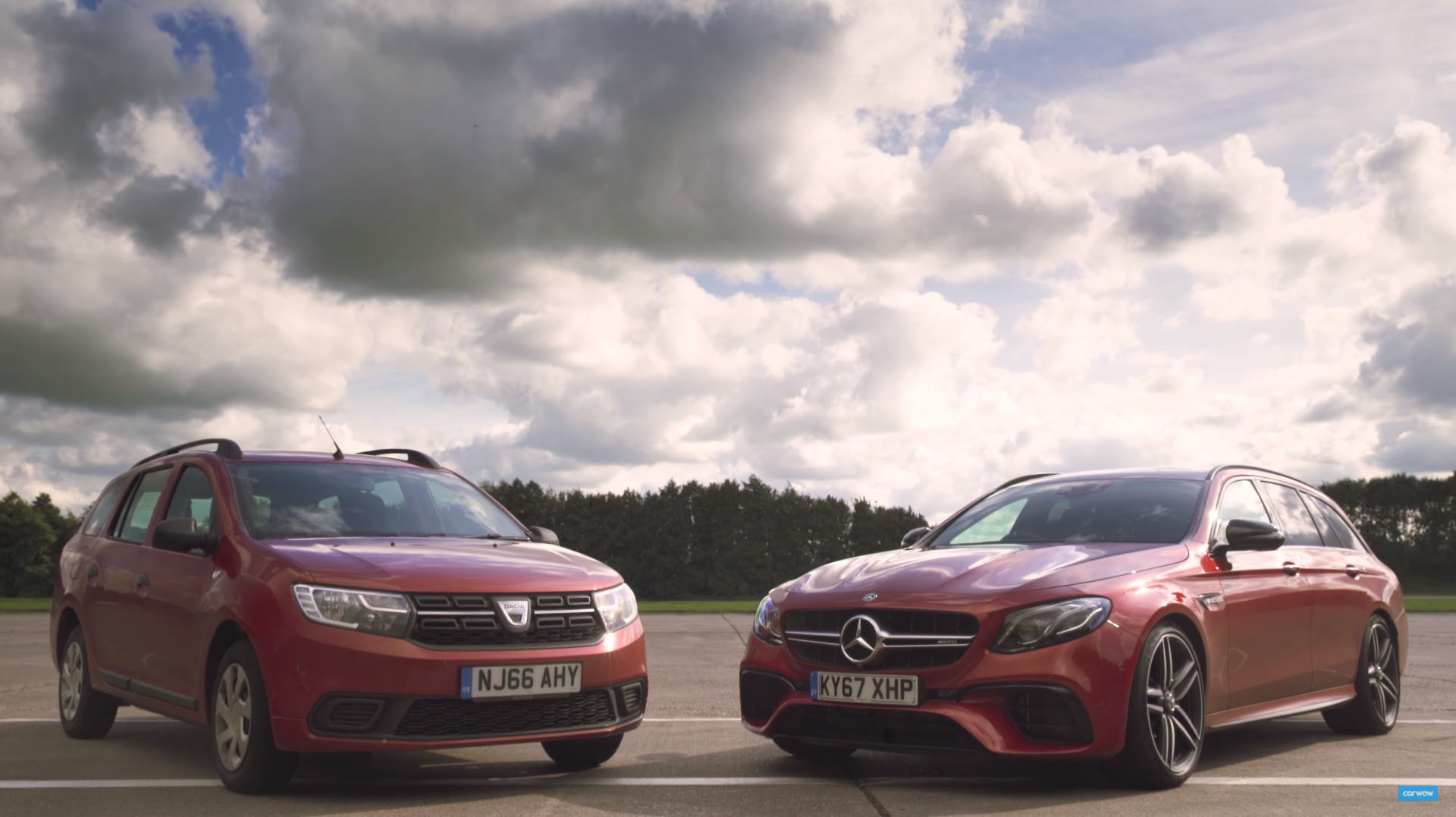 Mercedes amg e63 s vs dacia logan 10x the price how for How much is a mercedes benz amg