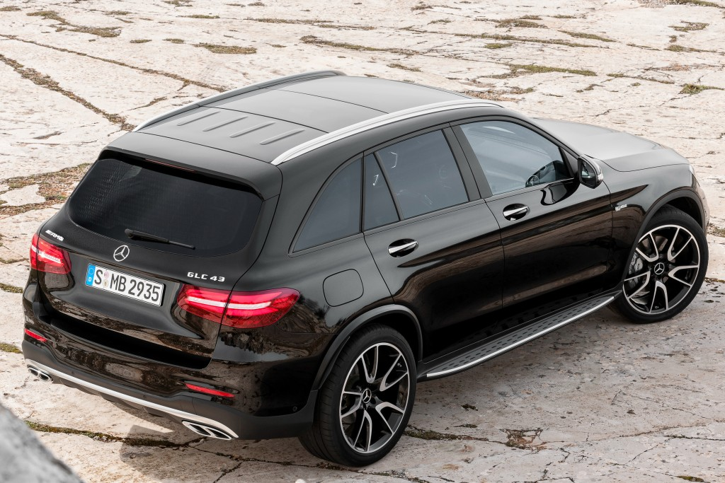 2017 Mercedes Amg Glc 43 4matic Is A 367 Hp Audi Killer