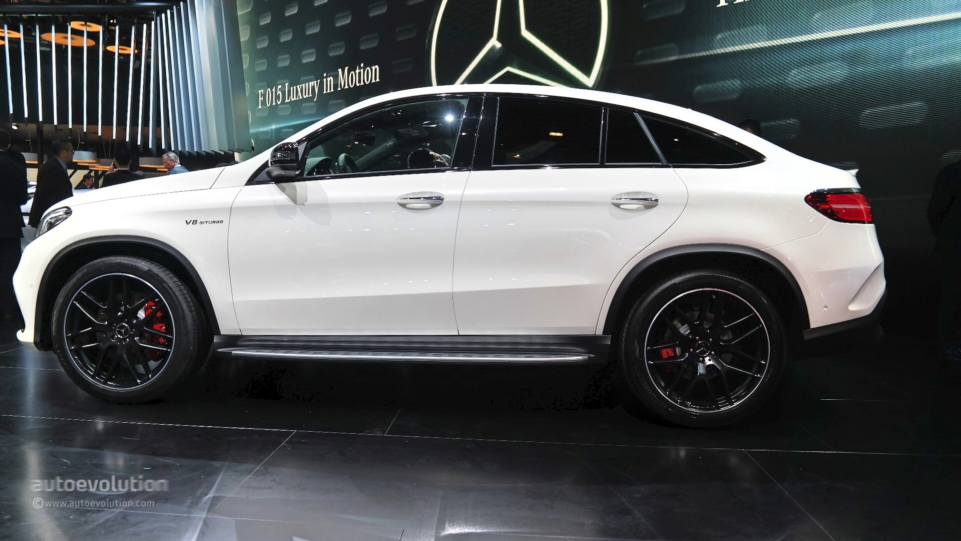 Mercedes AMG GLE63 S Coupe Is Too Much in the Flesh at the 2015