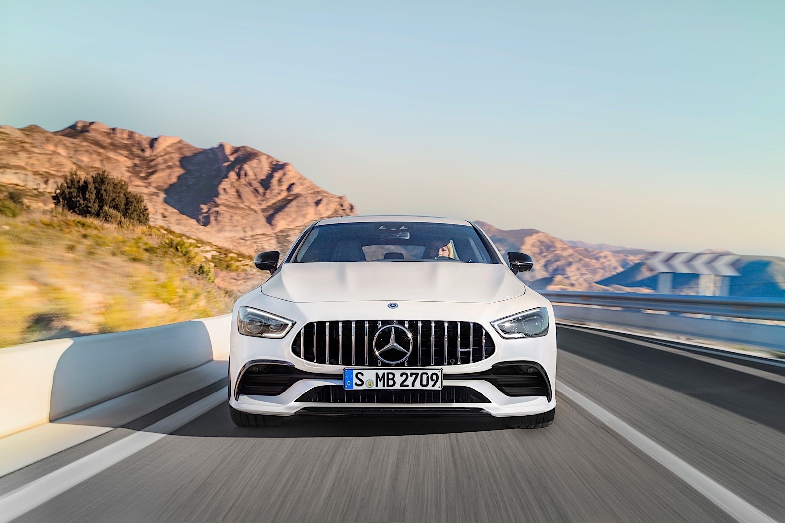 Mercedes-AMG GT Monster Hybrid Confirmed, Electric Driving Noise Is