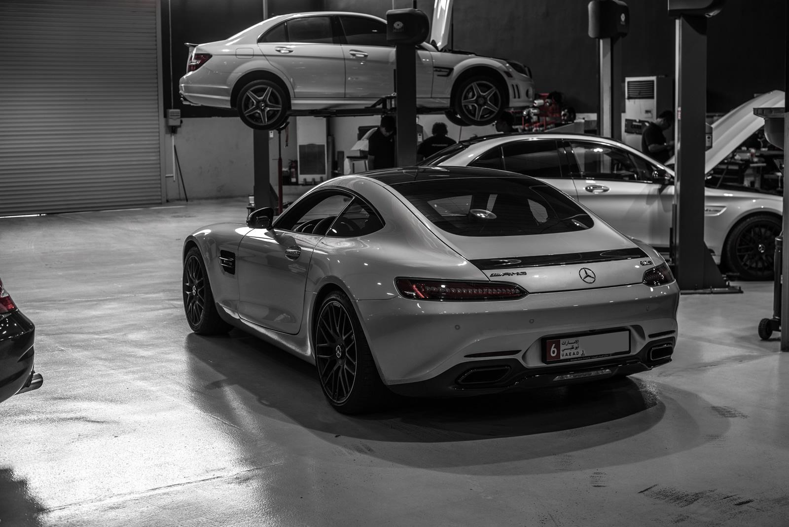 Mercedes-AMG GT and C63 Gain 100 HP from PP-Performance