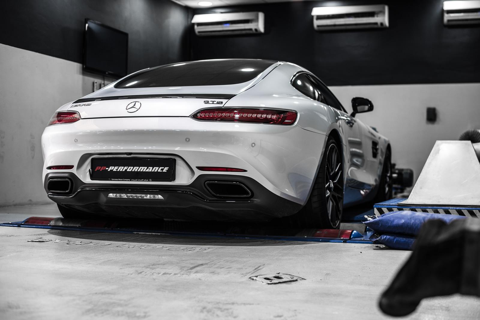German Car Brands >> Mercedes-AMG GT and C63 Gain 100 HP from PP-Performance - autoevolution