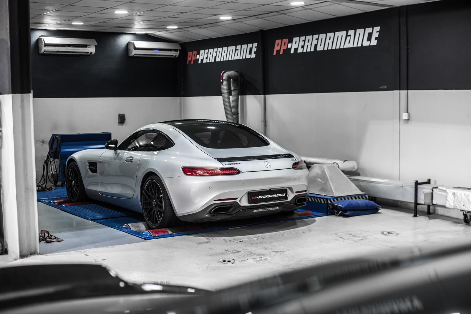 Mercedes-AMG GT and C63 Gain 100 HP from PP-Performance - autoevolution