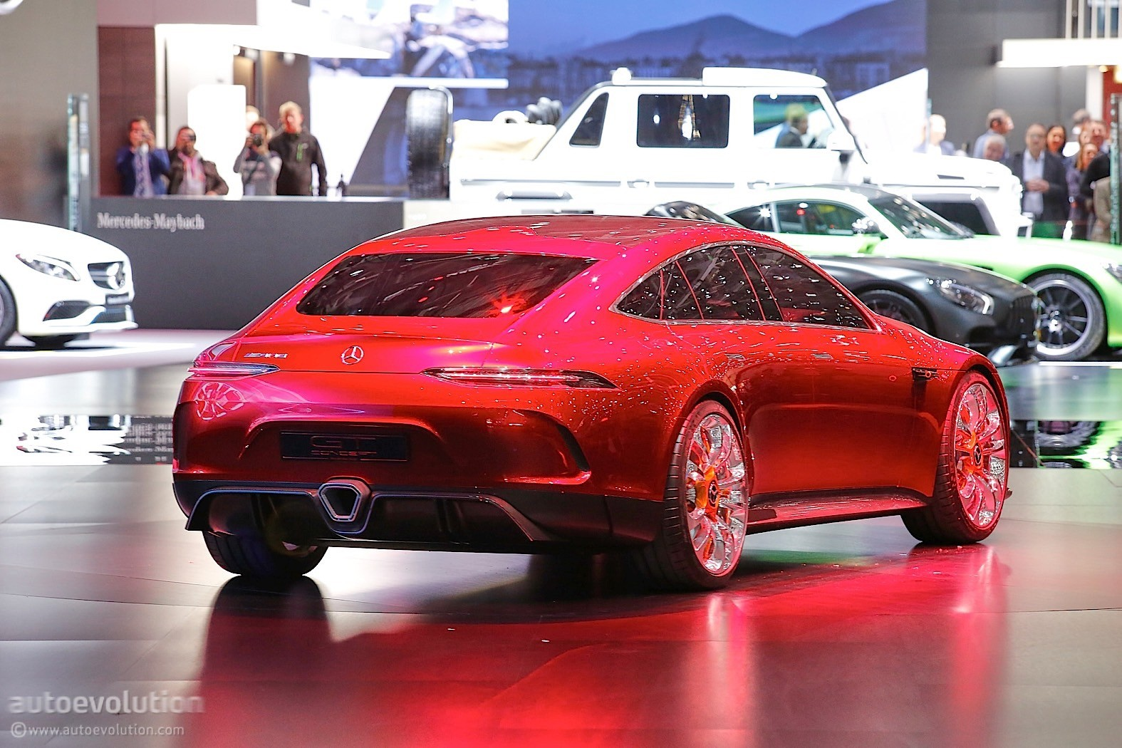 Mercedes amg gt concept is a brute in savile row clothing for Mercedes benz amg clothing