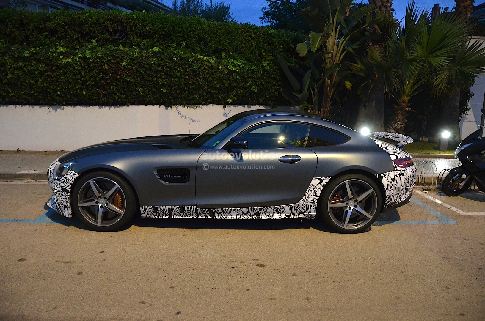 Mercedes Amg Gt Edition One Spotted Testing With Fixed