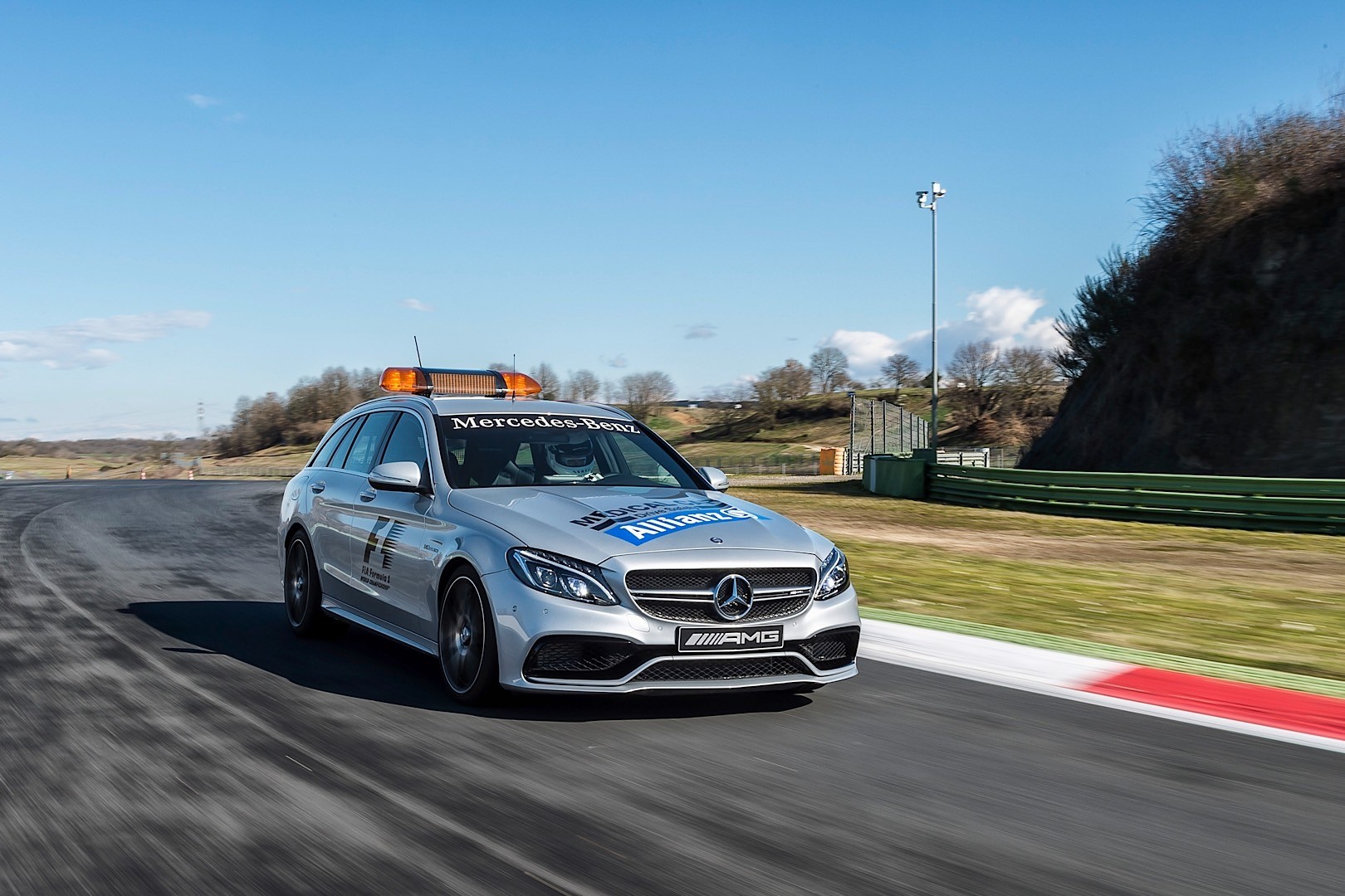 mercedes-amg gt is officially the 2015 formula 1 safety car
