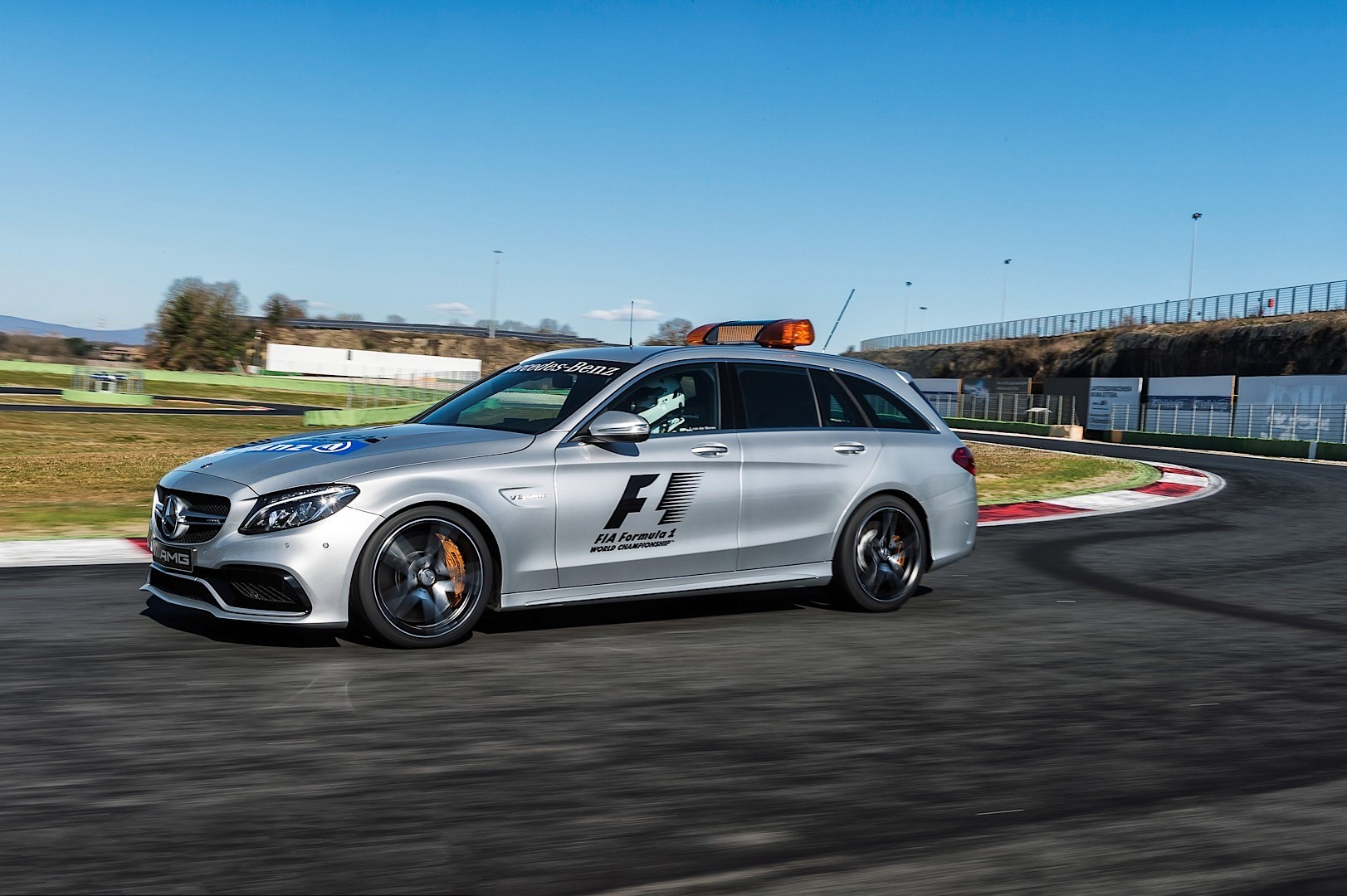 Mercedes amg gt is officially the 2015 formula 1 safety for Mercedes benz safety