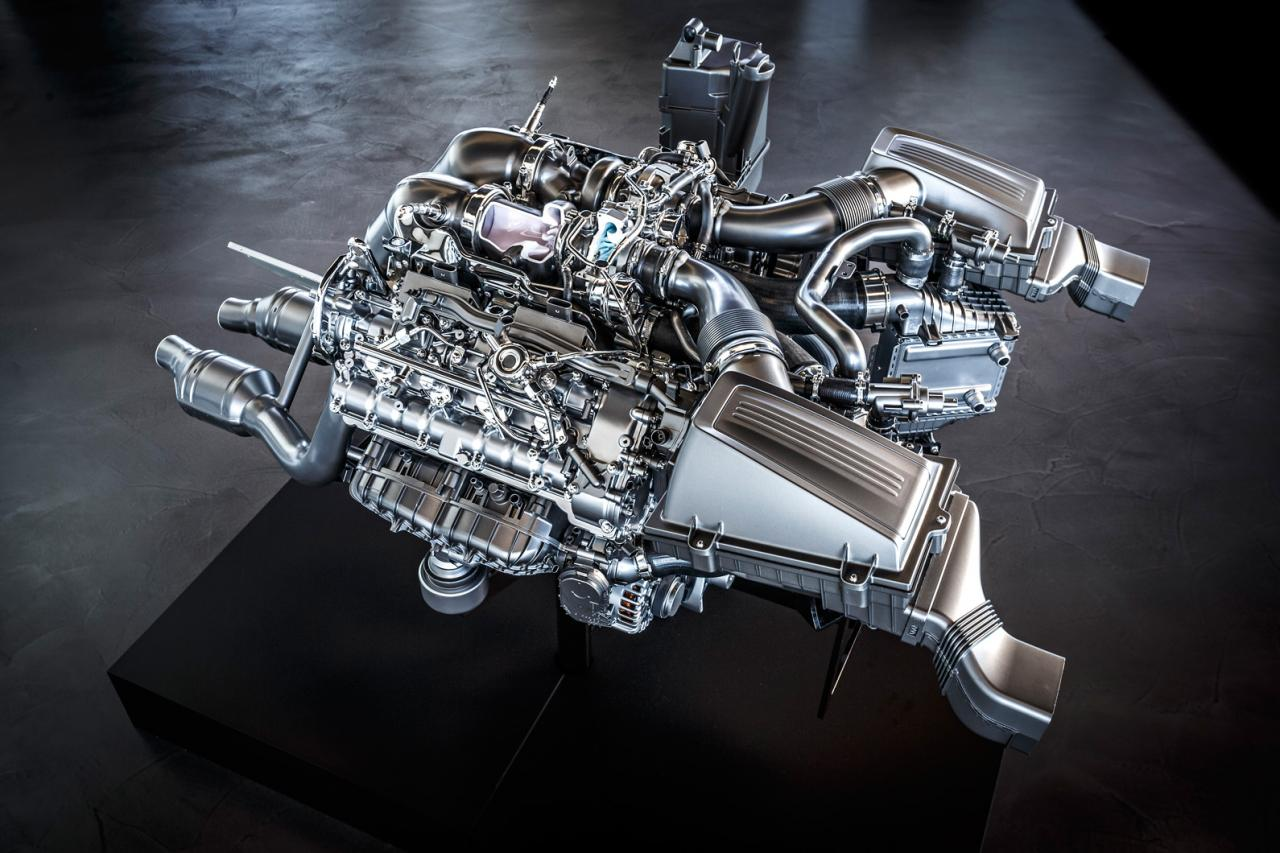 Mercedes AMG GT M178 Engine Specs Unveiled autoevolution