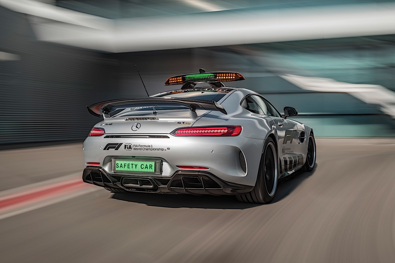 Check out the AMG GT R Formula 1 Pace Car