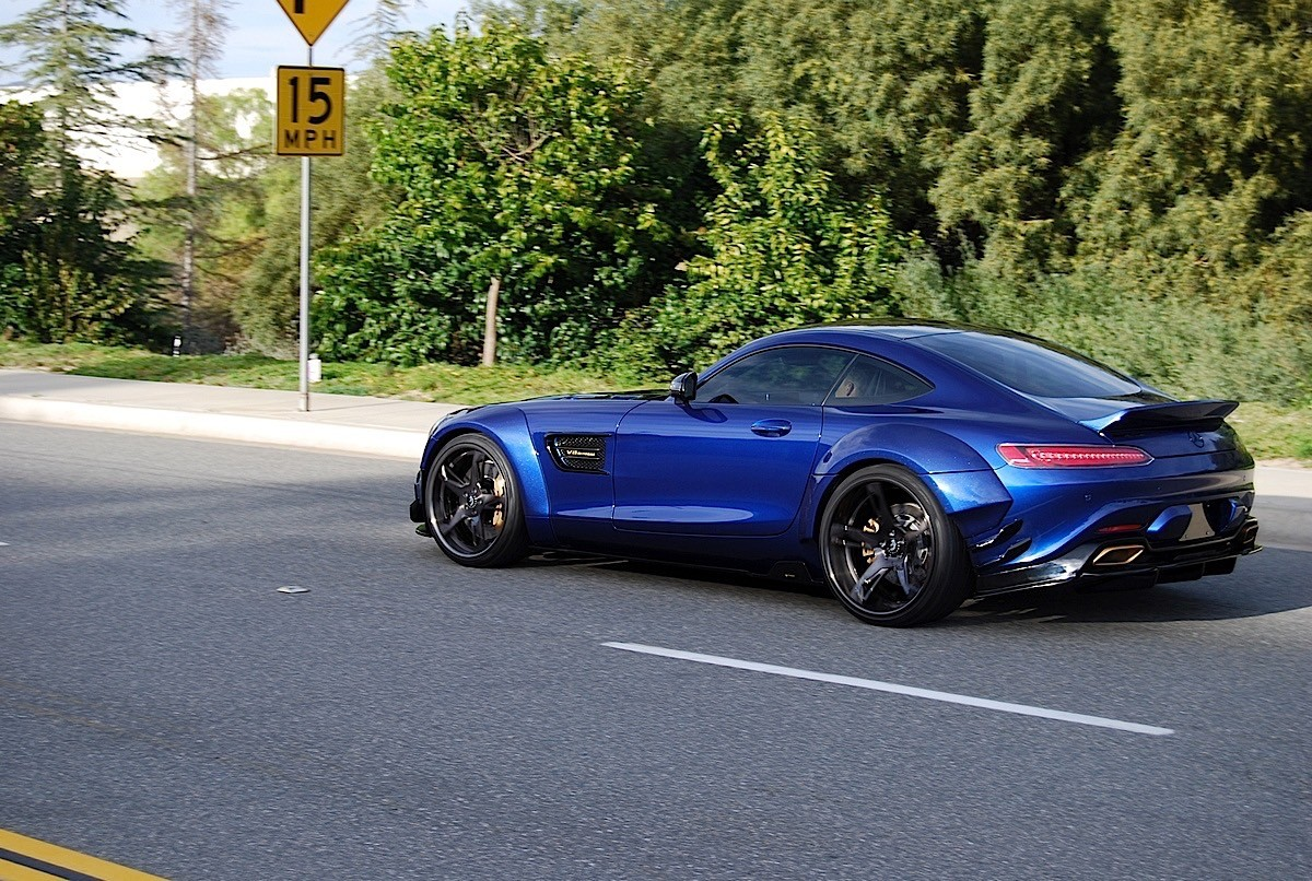 Mercedes Amg Gt S Prior Design Pd800gt Widebody Looks