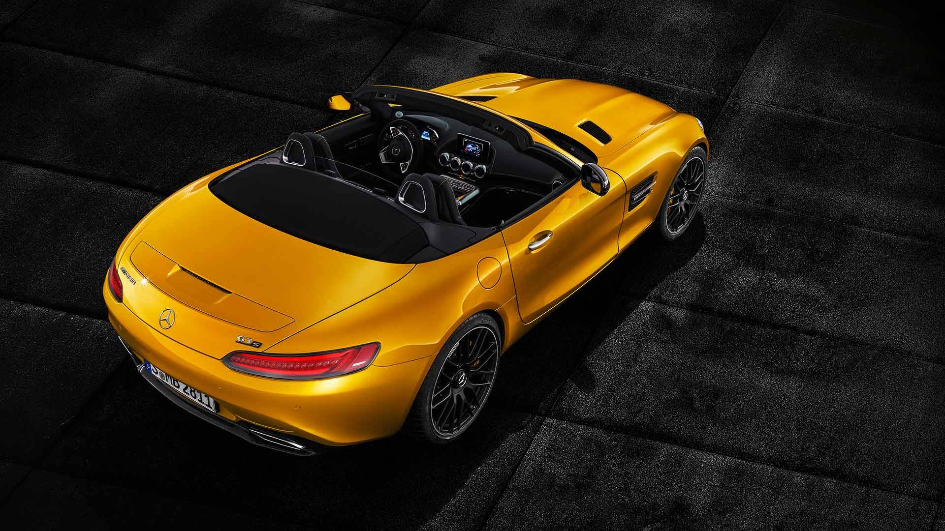 2019 Mercedes Amg Gt S Roadster Promises Top Down Sports
