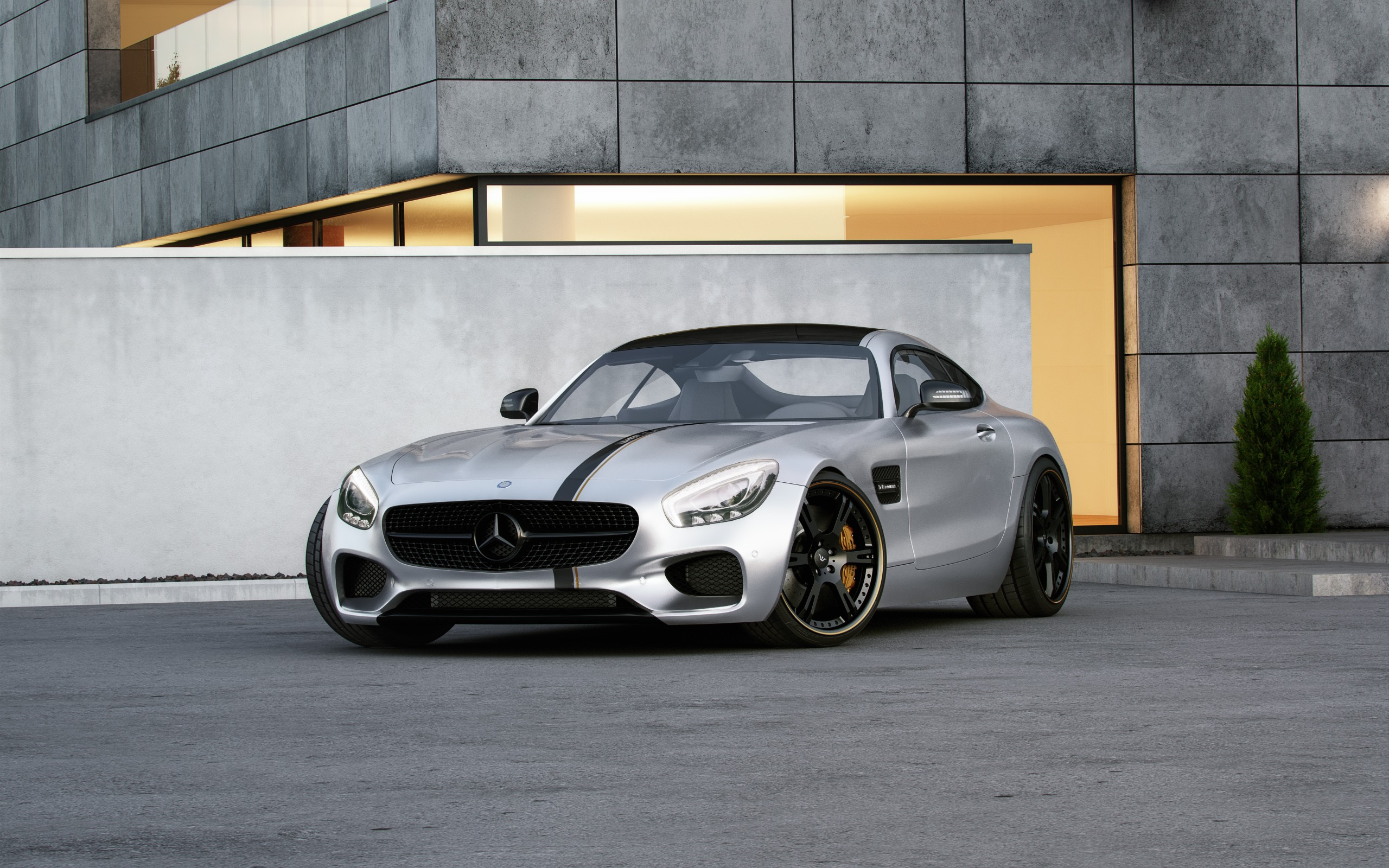 Mercedes amg gt tuned by wheelsandmore to 600 hp for Mercedes benz 600 amg
