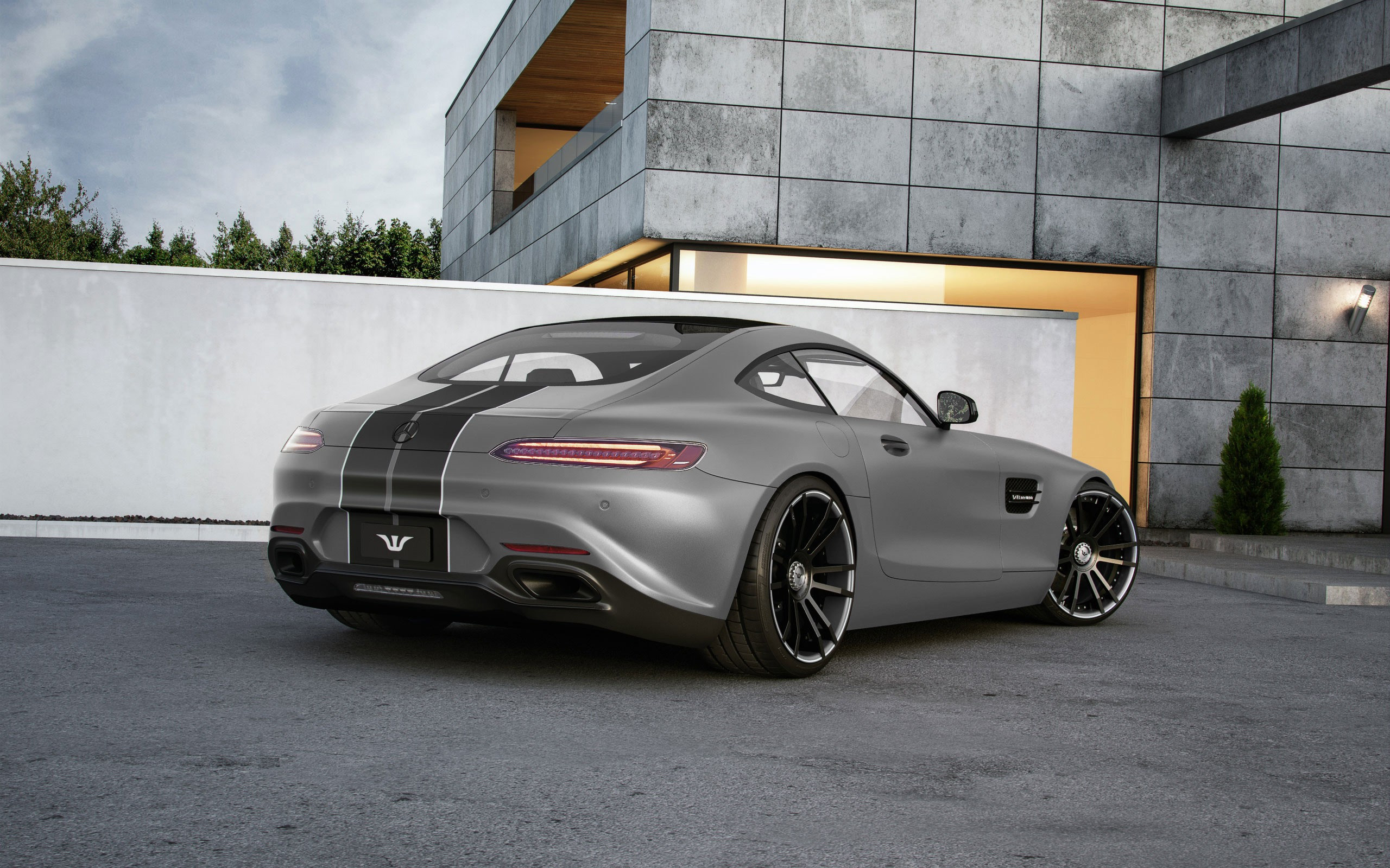 mercedes amg gt tuned by wheelsandmore to 600 hp autoevolution. Black Bedroom Furniture Sets. Home Design Ideas