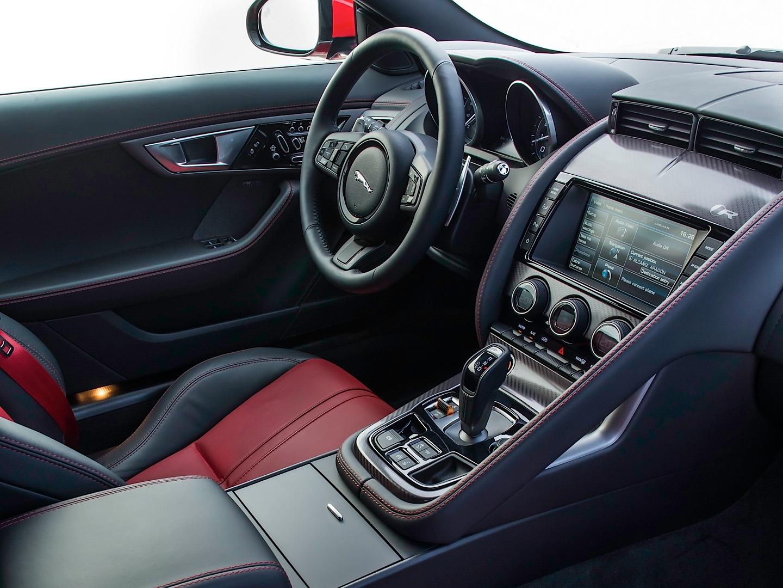 Mercedes amg gt vs porsche 911 vs jaguar f type interior battle autoevolution - Jaguar f type r coupe interior ...