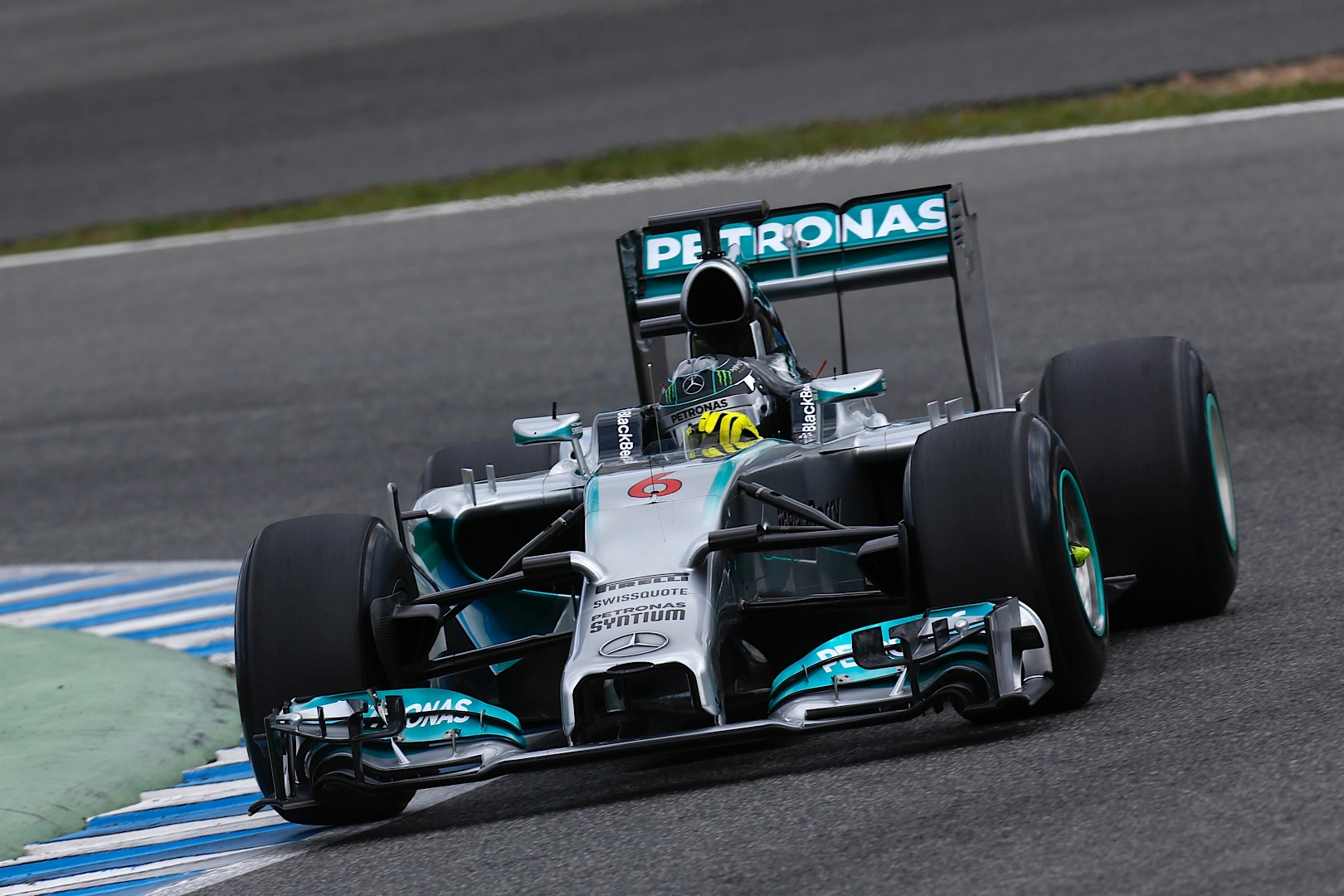 mercedes amg petronas concludes day three of testing at. Black Bedroom Furniture Sets. Home Design Ideas