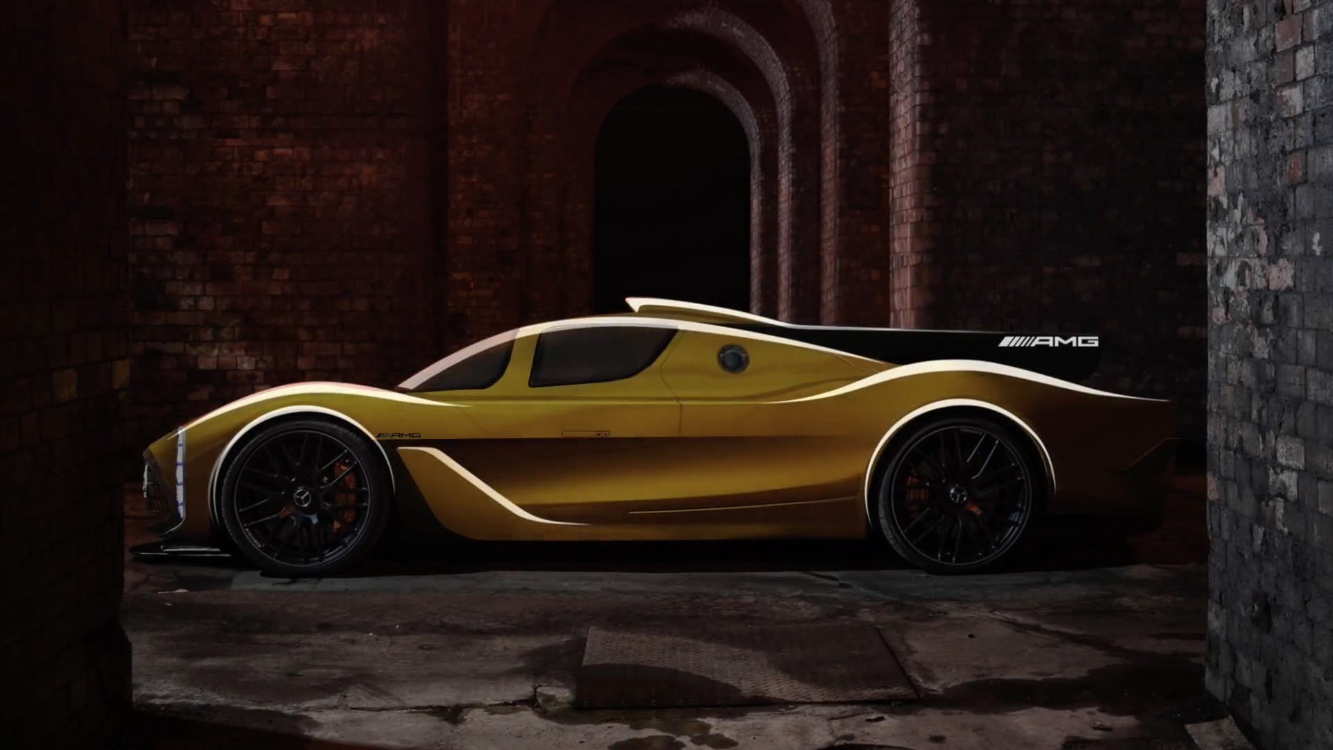 Mercedes amg project one hypercar rendered by peisert for Mercedes benz amg project one