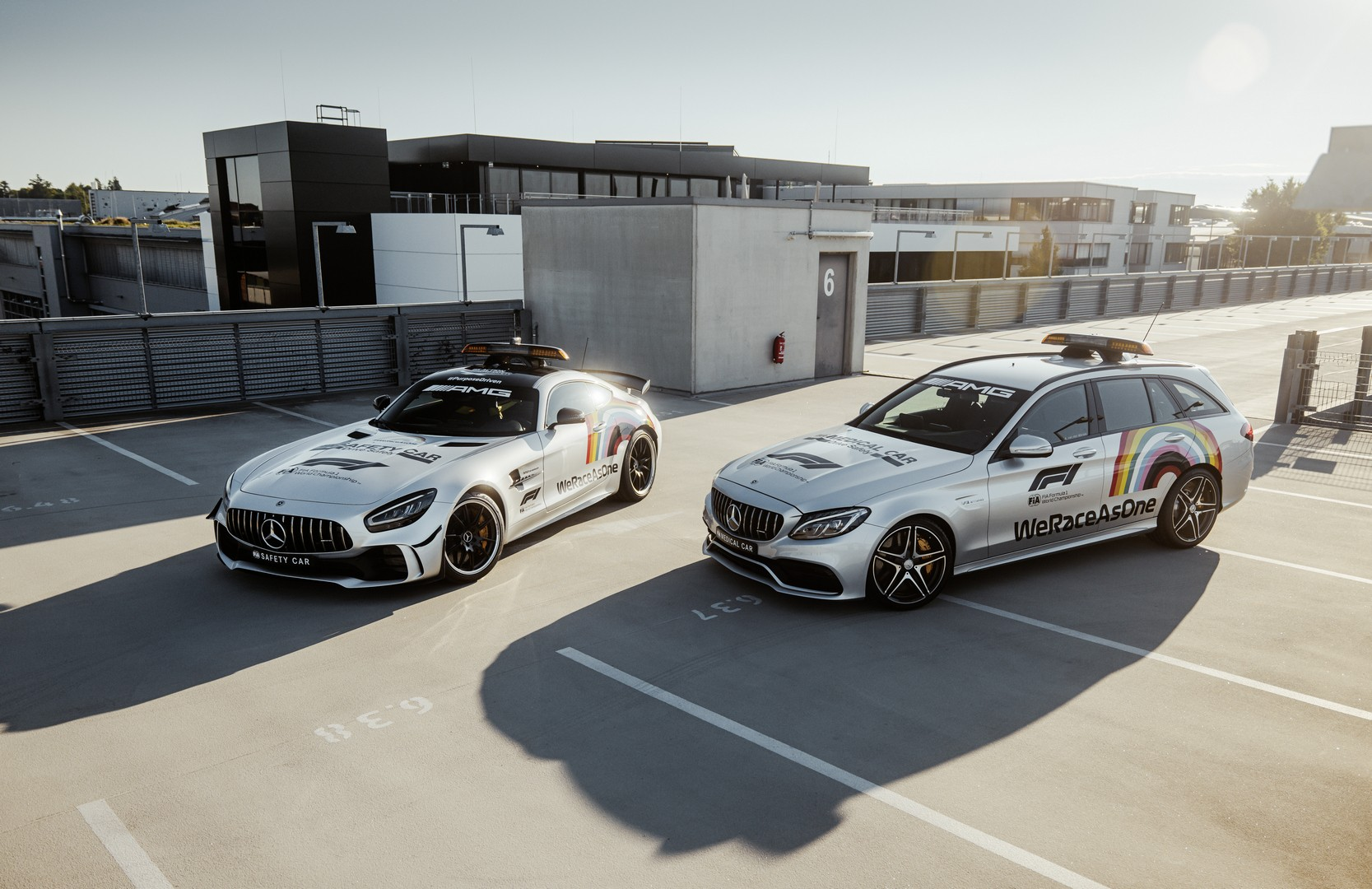 Mercedes-AMG's Official GT R F1 Safety Car Is Now Rainbow ...