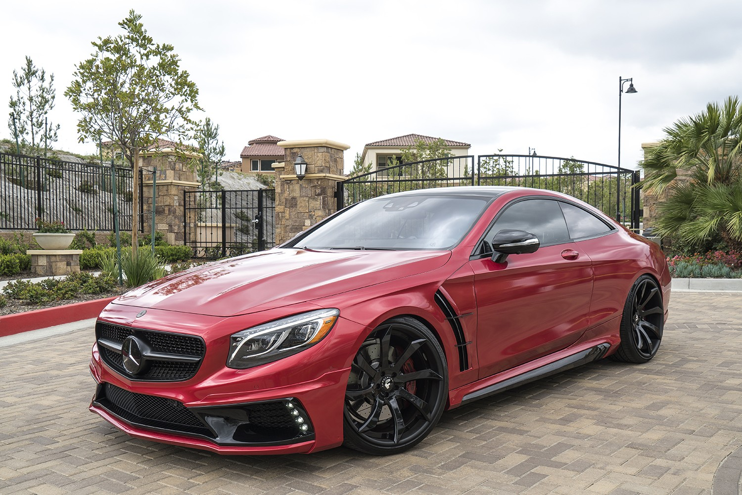 Mercedes Amg S63 Coupe Gets Wald Body Kit And Forgiato Wheels Autoevolution