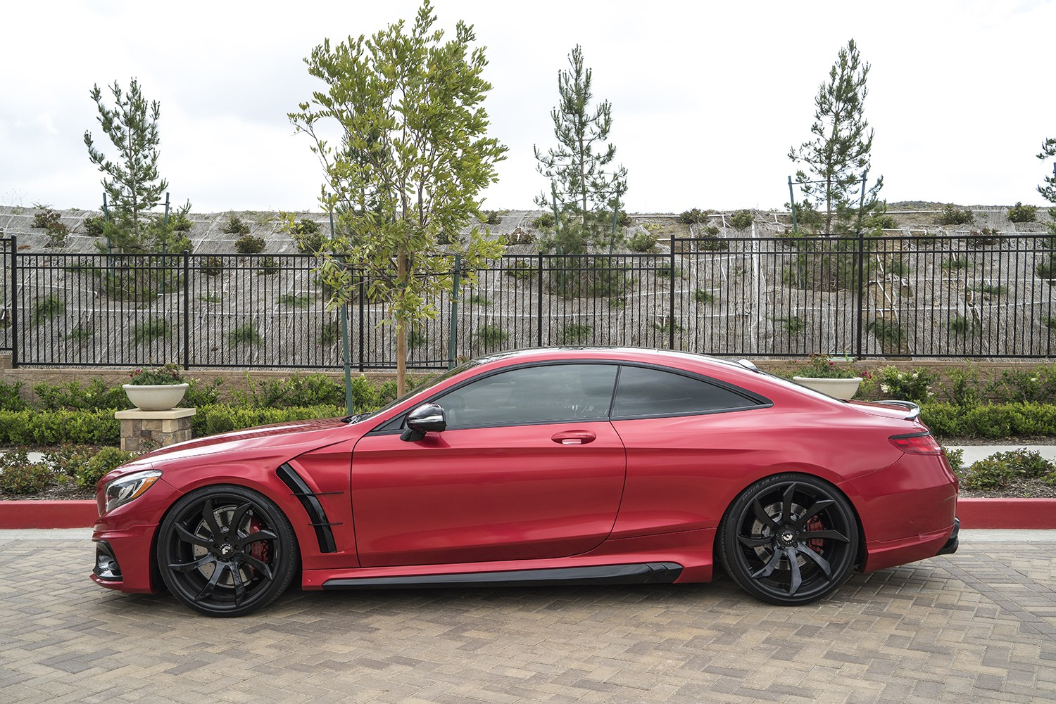 Mercedes Amg S63 Coupe Gets Wald Body Kit And Forgiato