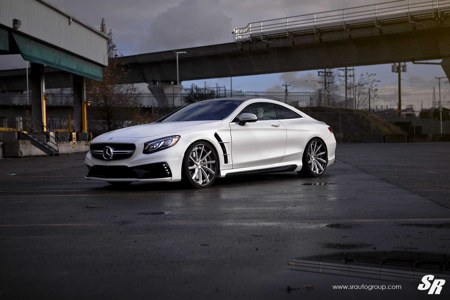 Mercedes Amg S63 Coupe Gets Wald Body Kit And Pur Wheels