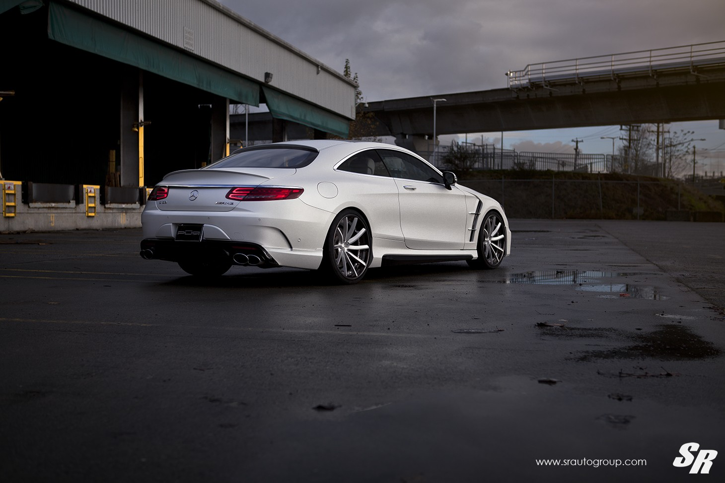 Mercedes amg s63 coupe gets wald body kit and pur wheels for Mercedes benz amg kit