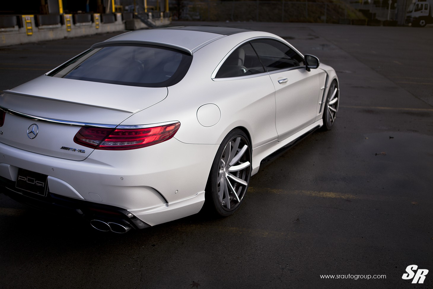 mercedes amg s63 coupe gets wald body kit and pur wheels in canada autoevolution. Black Bedroom Furniture Sets. Home Design Ideas