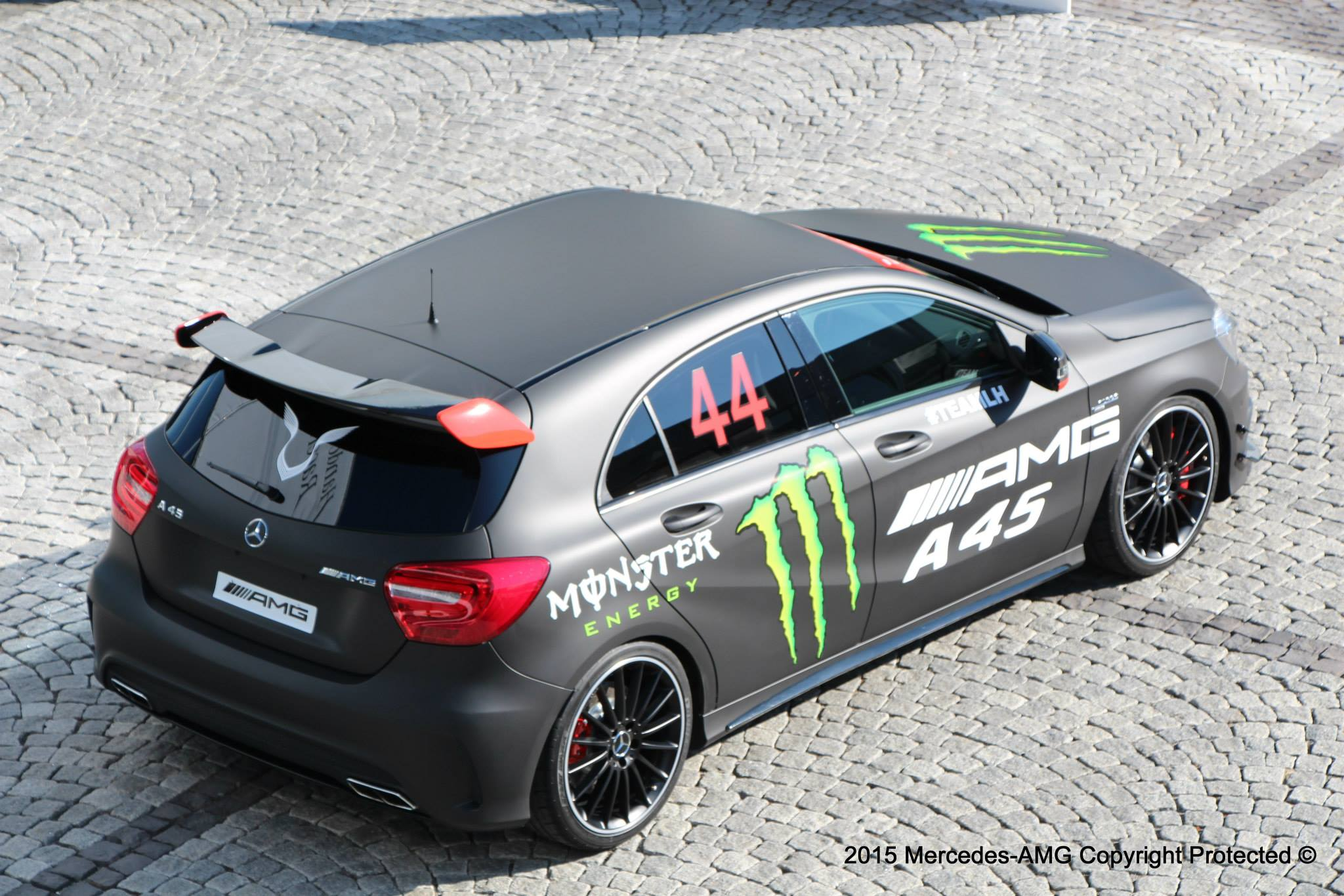 Mercedes Amg Shows Lewis Hamilton S Custom A45 Hot Hatch