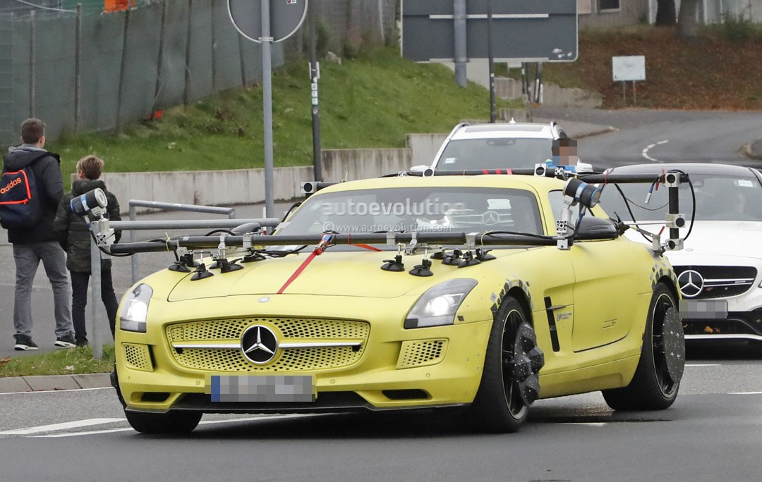 Mercedes benz sls amg electric drive makes odd 39 ring for Mercedes benz sls amg electric drive price