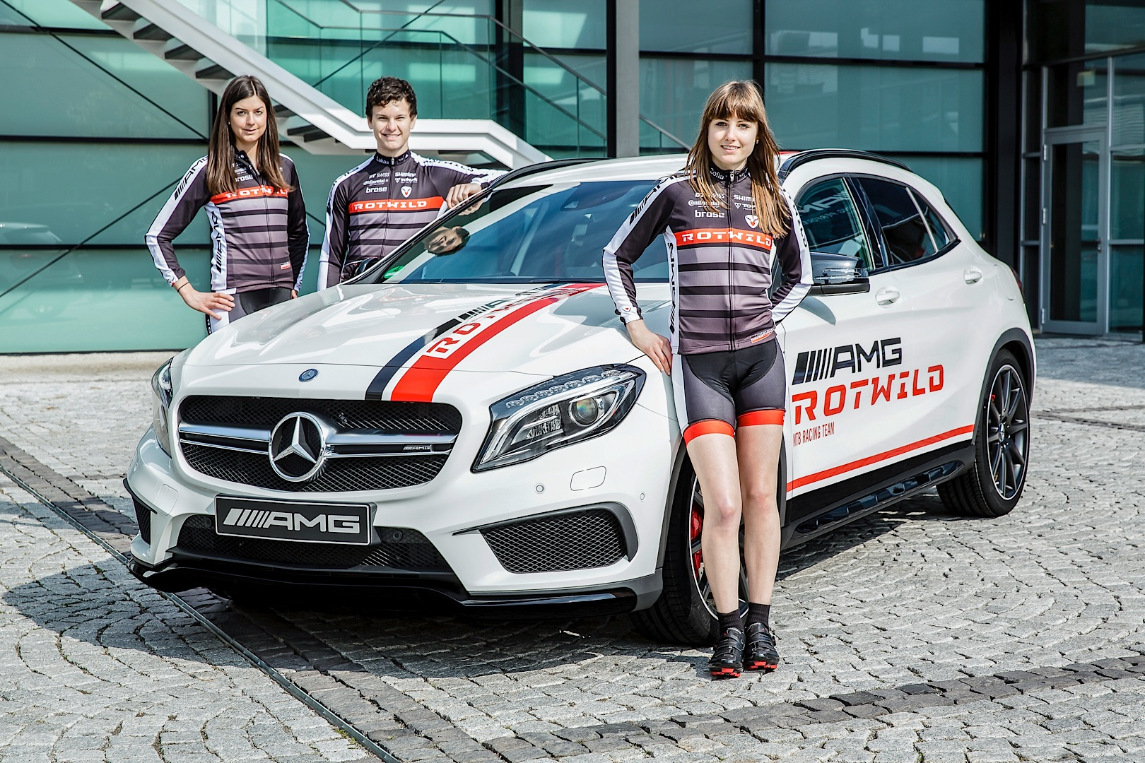 Mercedes Amg Sponsors A Mountain Bike Racing Team
