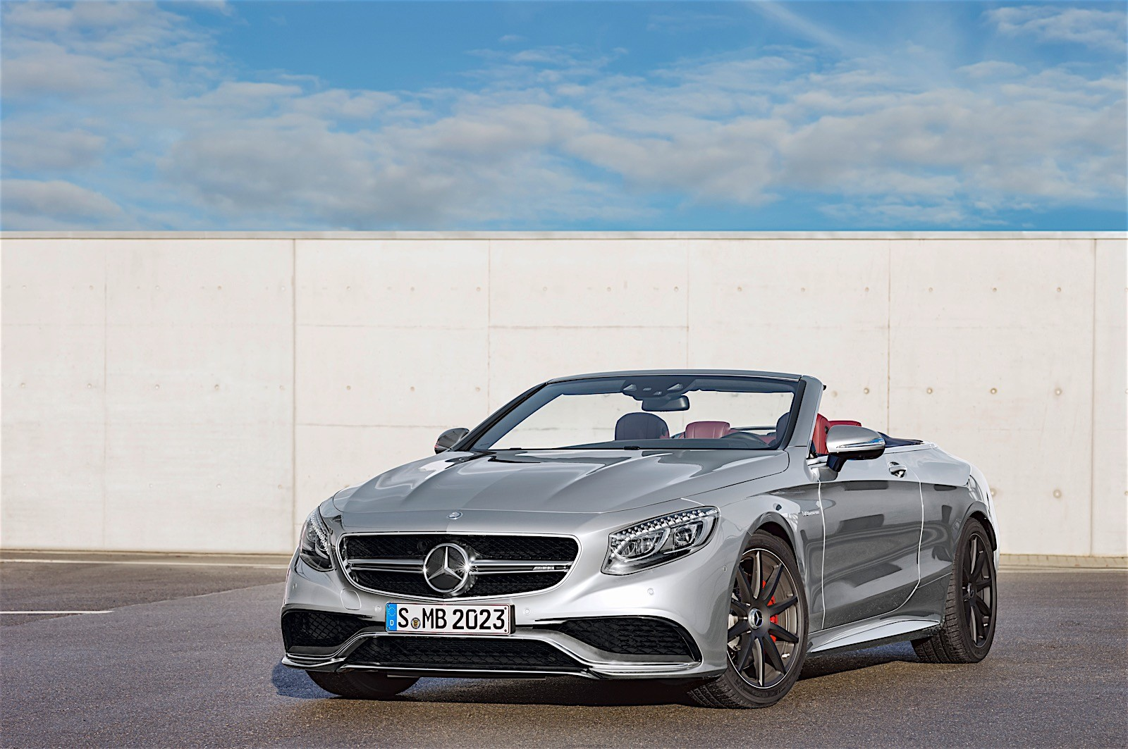 Mercedes amg unveils anniversary s63 cabriolet edition 130 for Who invented the mercedes benz