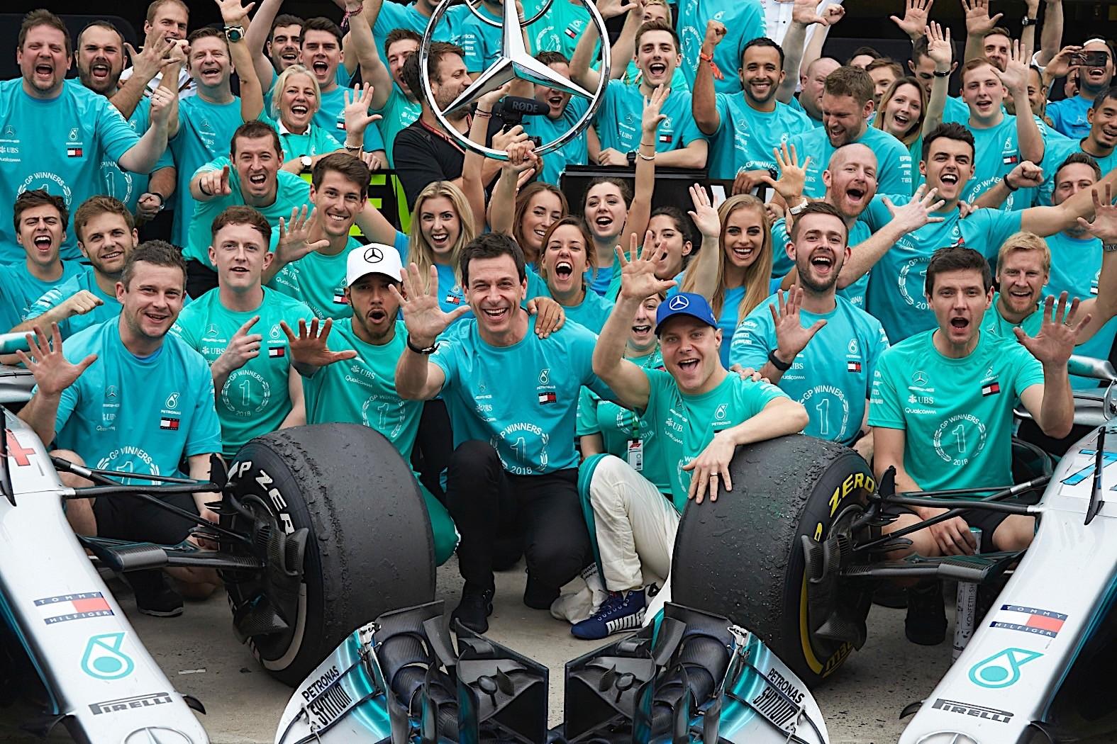 Williams Auto World >> Mercedes-AMG Wins 2018 Formula 1 Championship - autoevolution