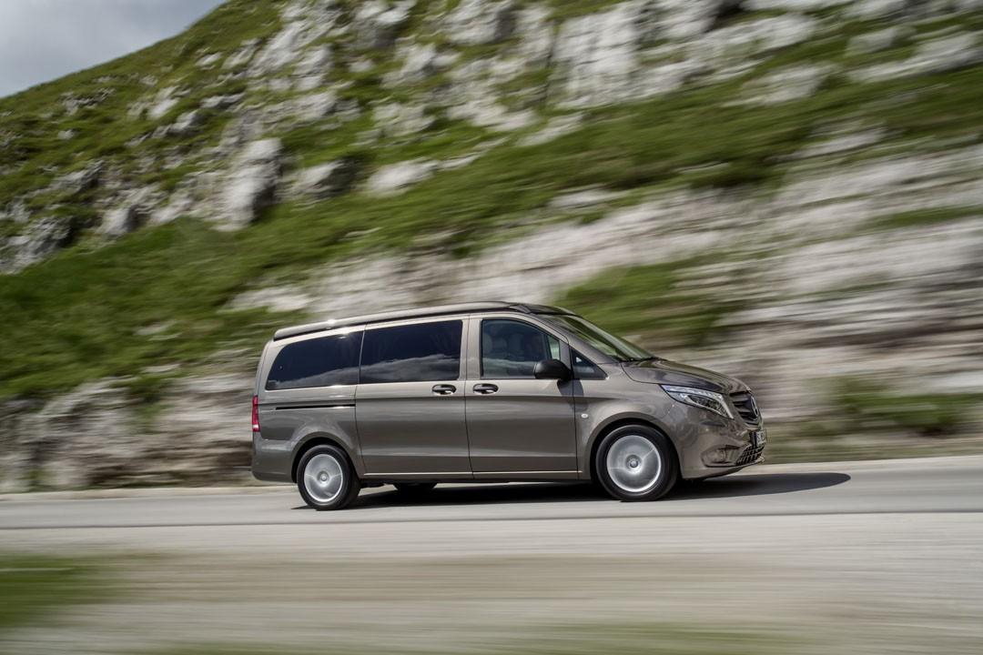 mercedes announces uk pricing for its transformers van the v class marco polo autoevolution. Black Bedroom Furniture Sets. Home Design Ideas